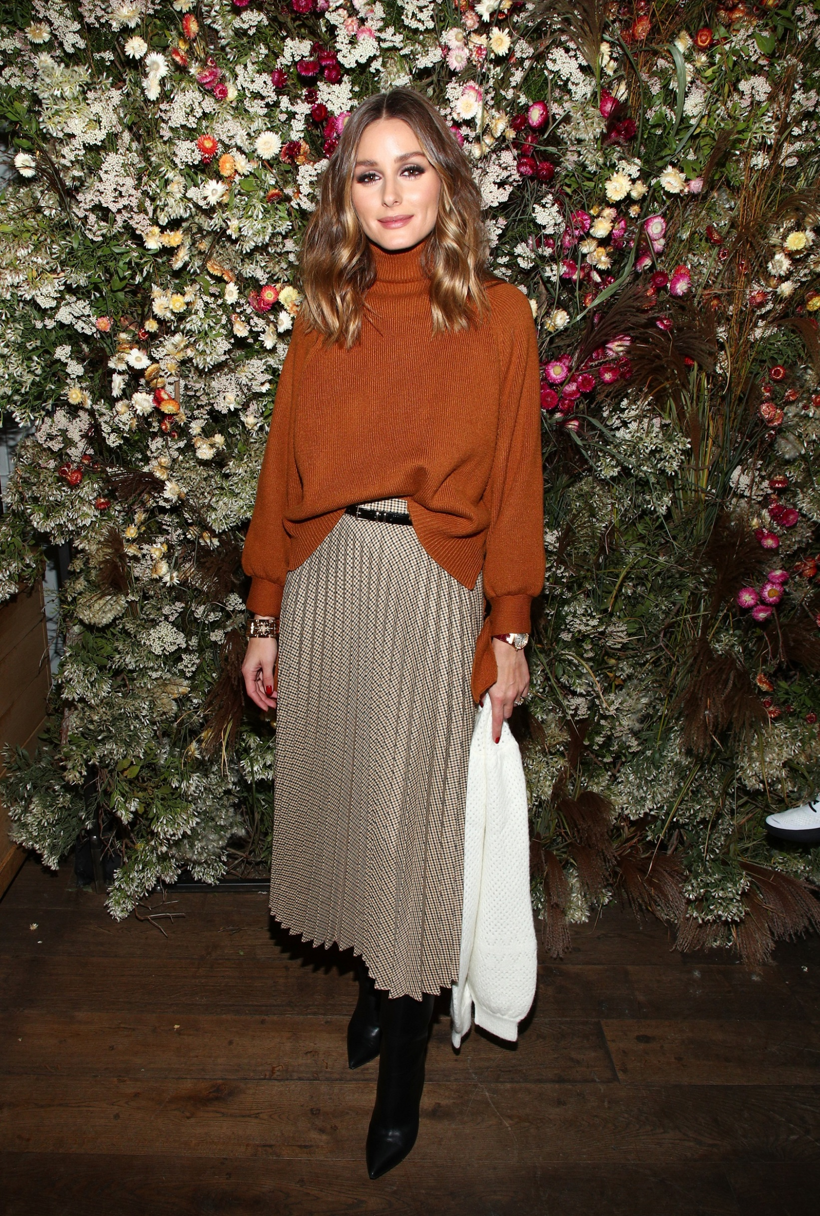 NEW YORK, NEW YORK - OCTOBER 17: Olivia Palermo attends Talita von Furstenberg Celebrates Her Second Collection on October 17, 2019 at La Mercerie in New York City. (Photo by Astrid Stawiarz/Getty Images for TVF for DVF)
