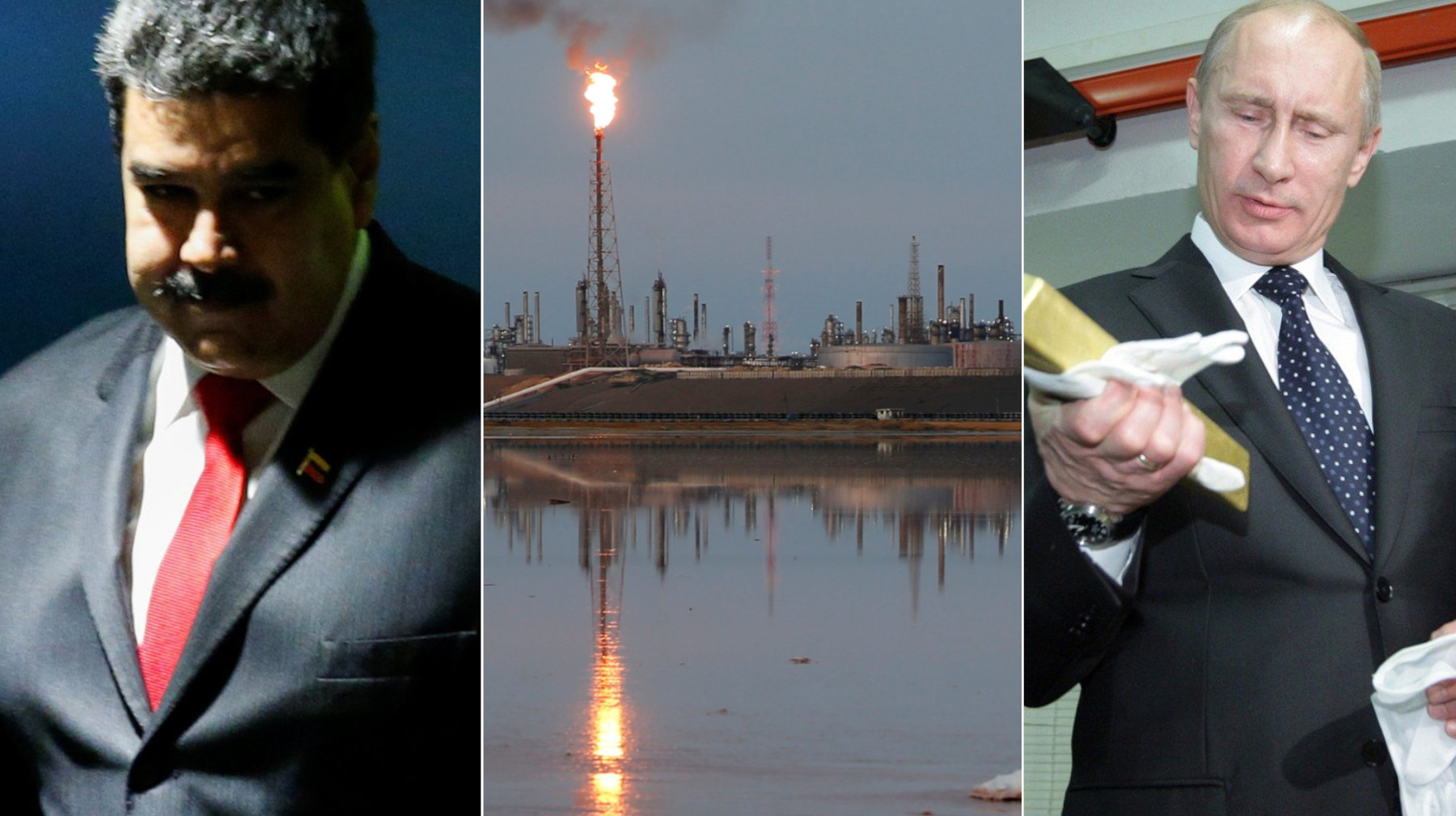 Nicholas Maduro, Amuay rafinerija u Venezueli, Vladimir Putin