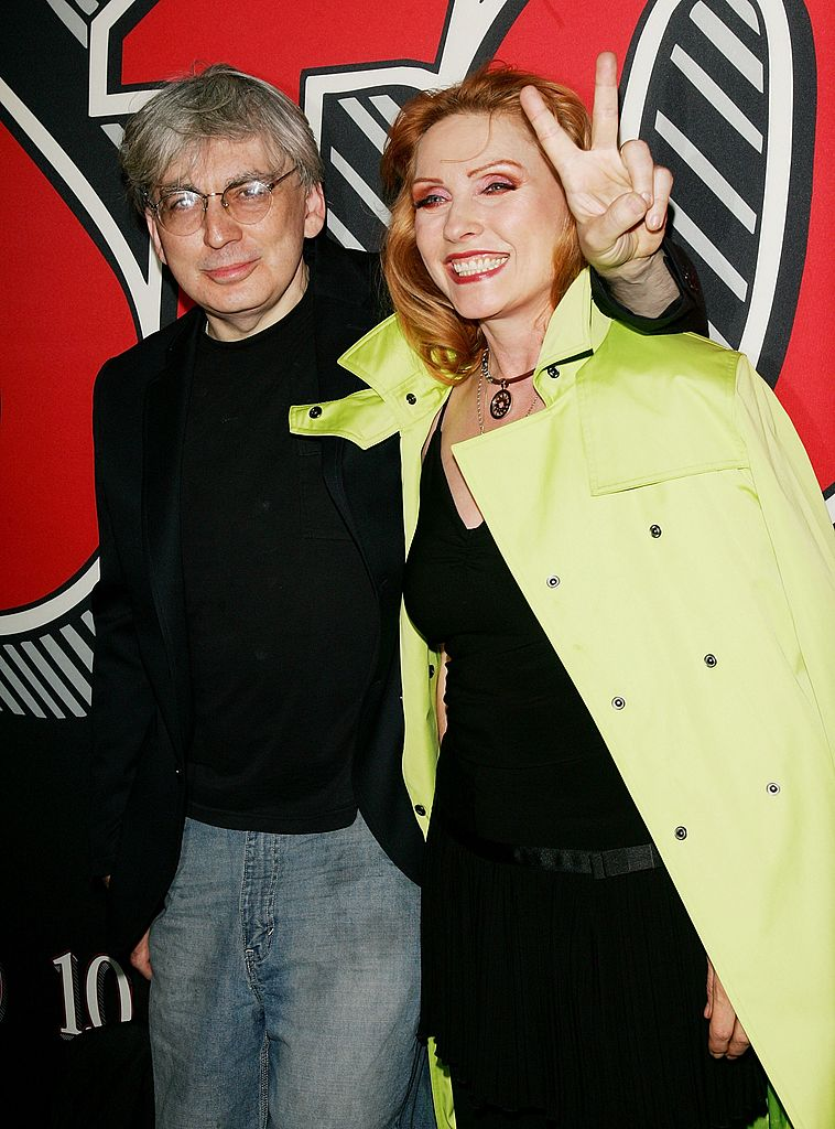 NEW YORK - MAY 06:  Singer Deborah Harry and bandmate Chris Stein attend Rolling Stone Magazine's 1000th cover celebration May 04, 2006 in New York City, New York. (Photo by Evan Agostini/Getty Images)