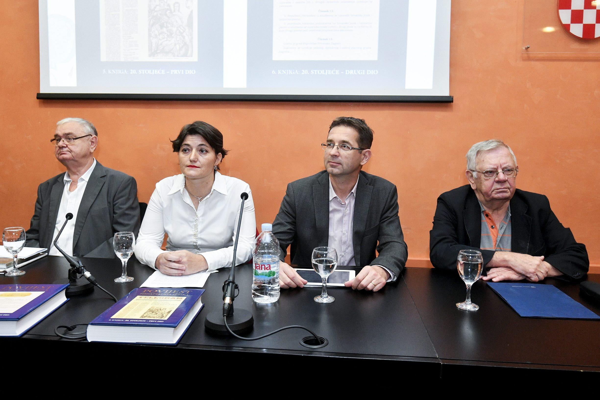Stjepan Damjanović, Ivana Matas Ivanković, Željko Jozić i Ivo Pranjković