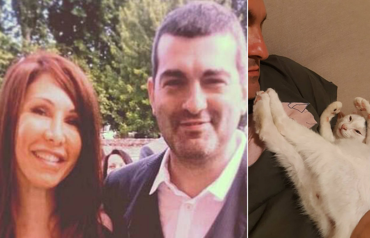 Sabrina Pellegrini i Claudio Piana