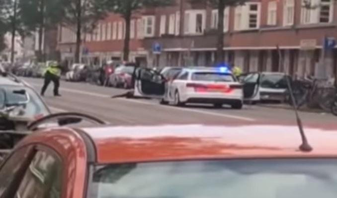 Uhićenje u Amsterdamu
