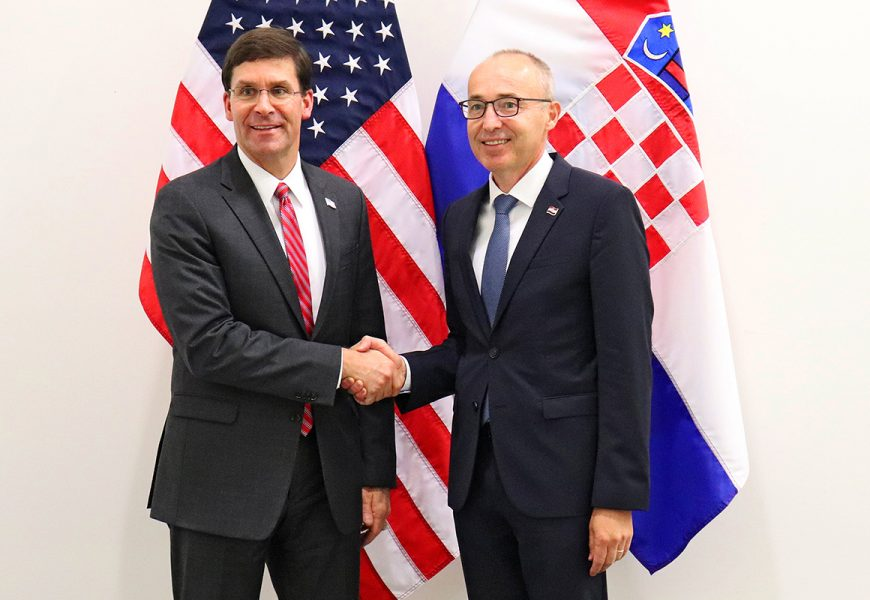 Damir Krstičević i Mark Esper