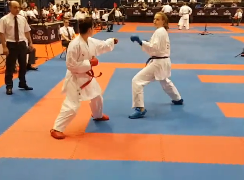 Lucija Lesjak karate foto screenshot
