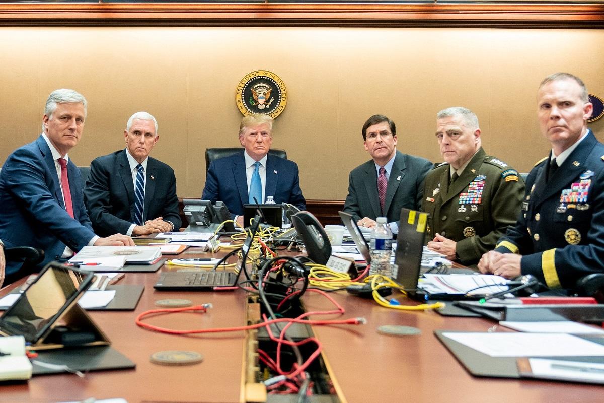 Donald Trump sa suradnicima prati operaciju američkih specijalaca