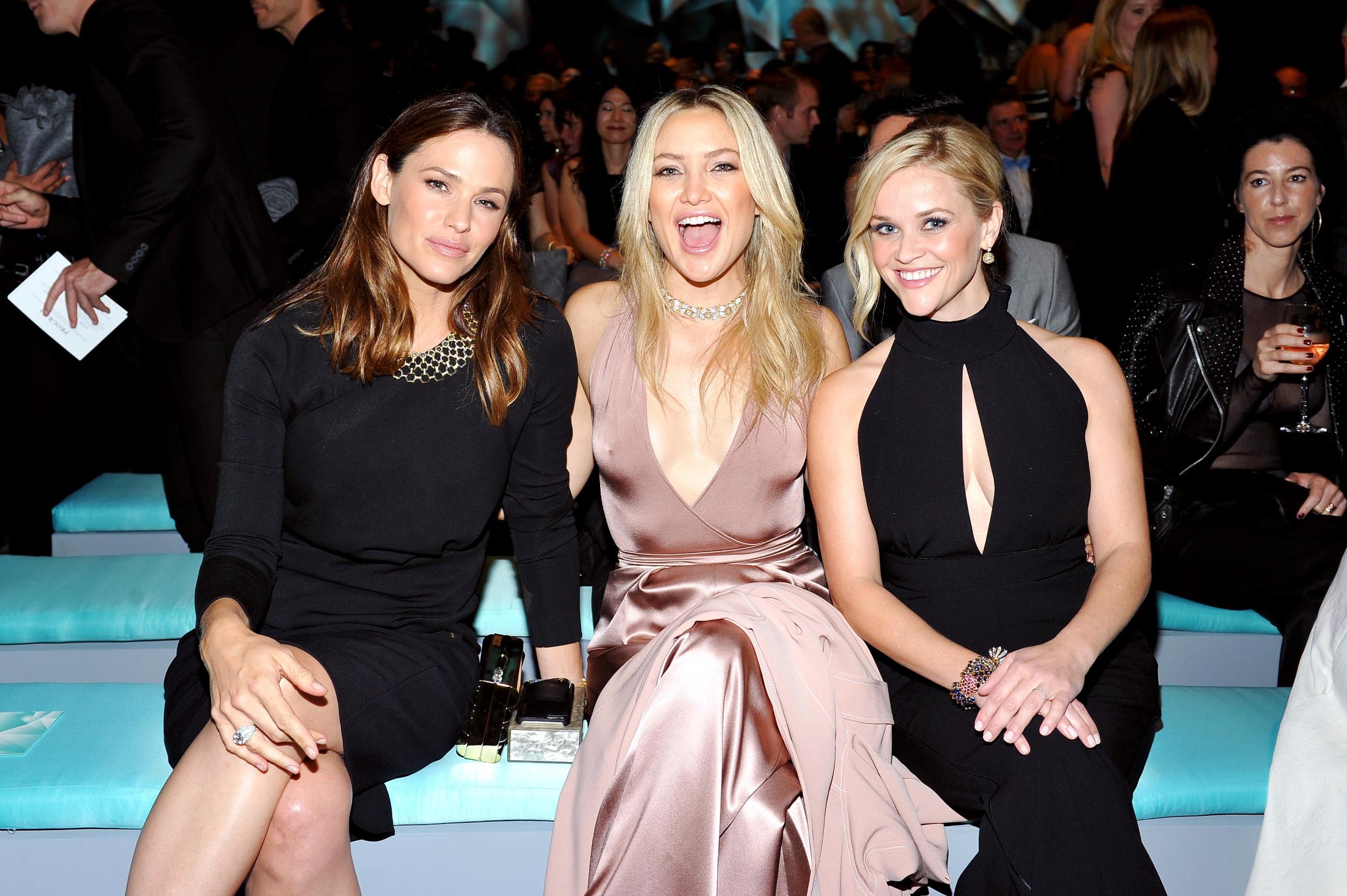 Jennifer Garner, Kate Hudson i Reese Witherspoon na otvaranju trgovine Tiffany & Co na Beverly HillsU
