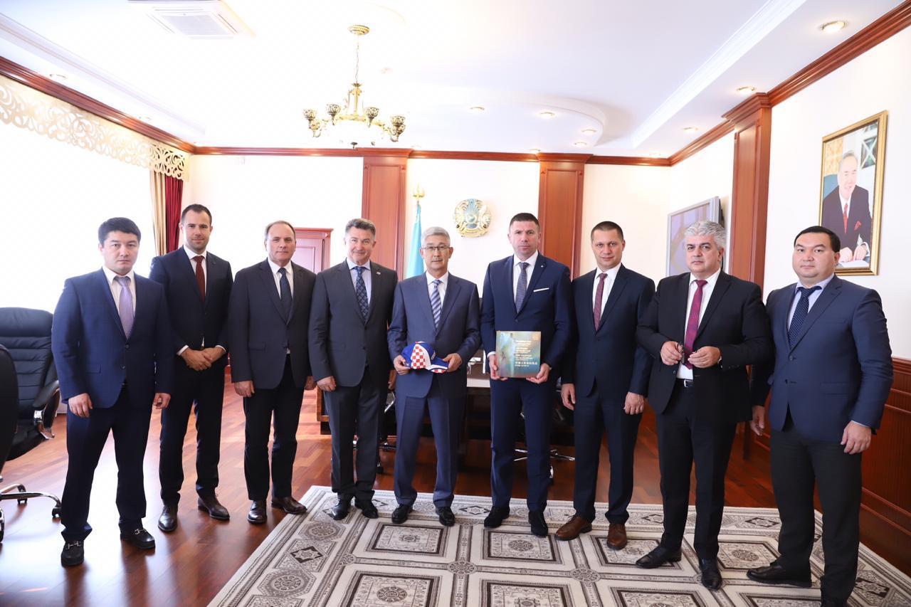 Delegacija Hrvatske u posjetu kazahstanskom gradu Aktau