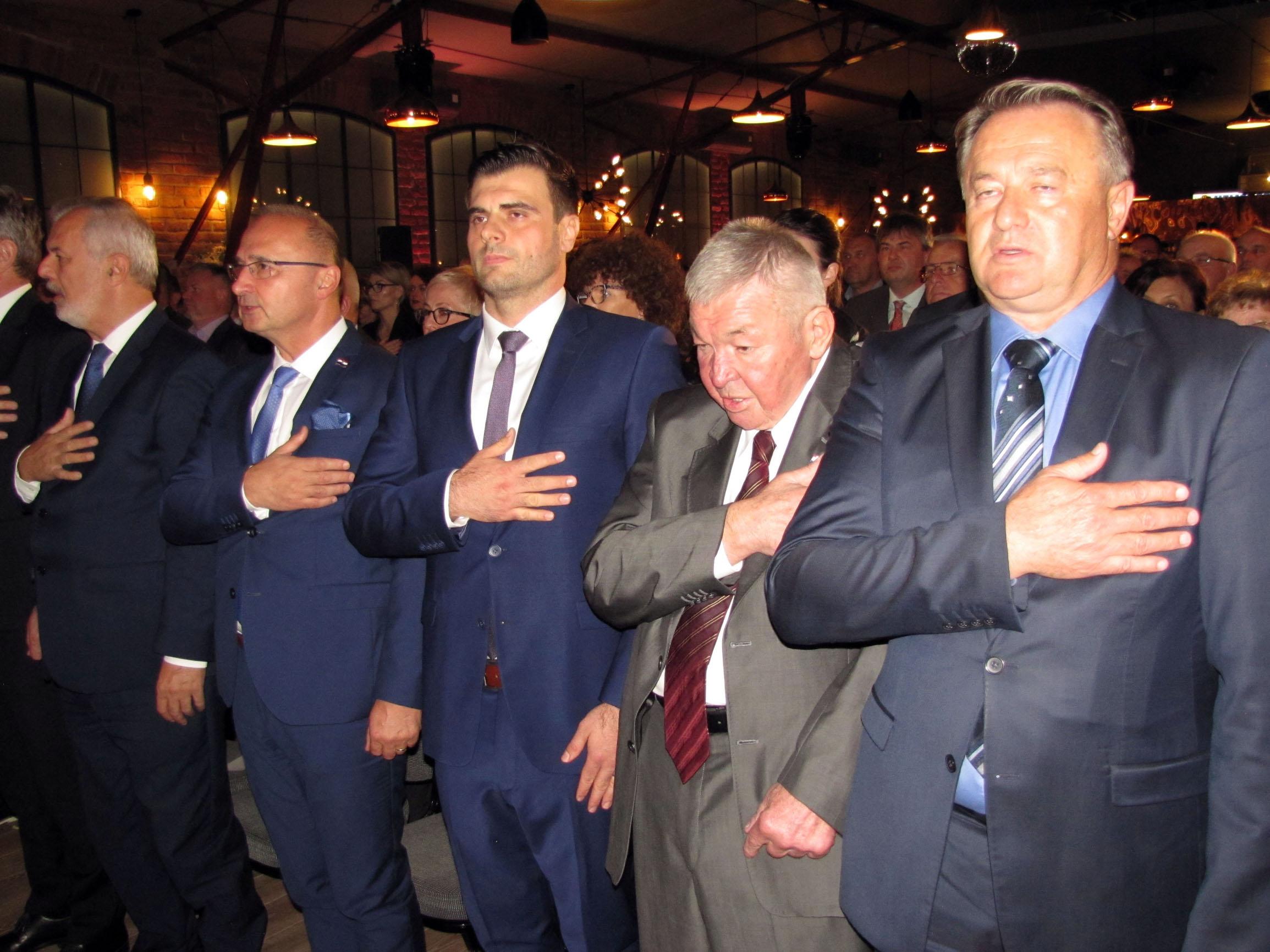 Ante Sanader, Gordan Grlić Radman, Ivan Celjak, Ivan Bobetko, Ivo Žinić