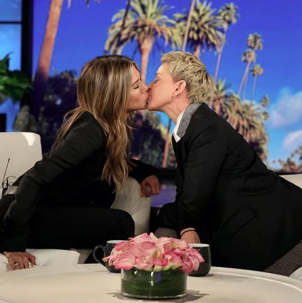 Jennifer Aniston i Ellen DeGeneres
