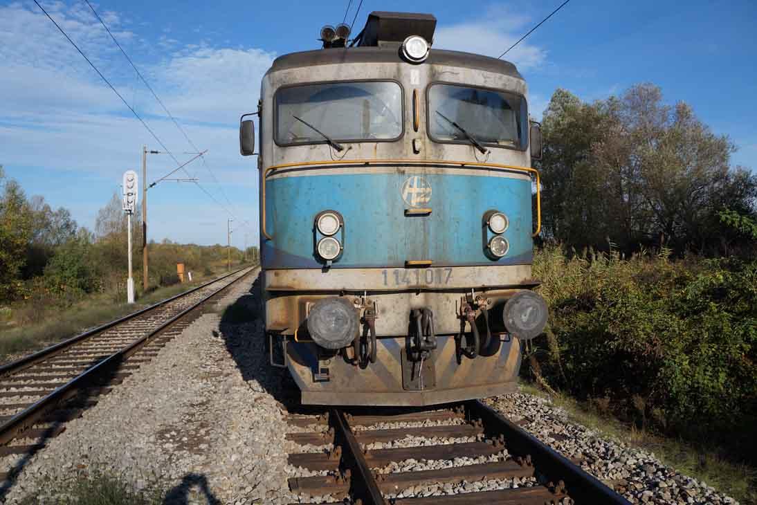 Vlak je zaustavljen nedaleko Ivanić Grada