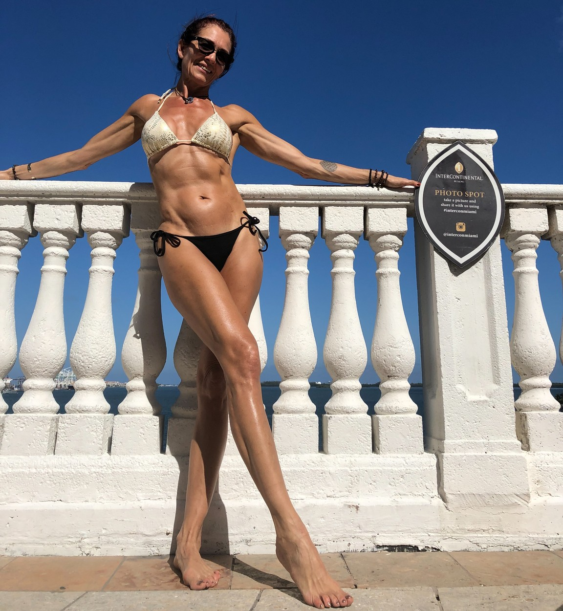 Alejandra pictured in a bikini. THIS GRAN swears by a RAW FOOD diet to keep her looking youthful - and the flirtatious advances she receives from MEN and being mistaken for her daughter's sister prove it's working. Pilates instructor, Alejandra Labastida-Shapiro (55) who lives in Chicago, Illinois, USA, began her journey to live a healthy lifestyle when she was just 10 years old when her father would encourage her to run with him. Growing up with healthy parents who would use natural remedies and medicinal herbs to avoid future sicknesses and injuries, educated Alejandra about the world of fitness and diets. While she initially chose this lifestyle for vanity reasons, as she grew older, she began to re-shift her focus to improve her health. In 2000, Alejandra, who is a mum to three adults; Roberto (34), Alejandra (32) and Mauricio (25), was introduced to Pilates through a friend, which she fell in love with. She avoids any processed food and sugar and consumes mainly raw and organic food. Her youthful figure has prompted many advances from men who give her compliments on her appearance and has even received flowers from a secret admirer. mediadrumworld.com / Alejandra Labastida-Shapiro, Image: 474475303, License: Rights-managed, Restrictions: , Model Release: no, Credit line: mediadrumworld.com / Alejandra L / Media Drum World / Profimedia