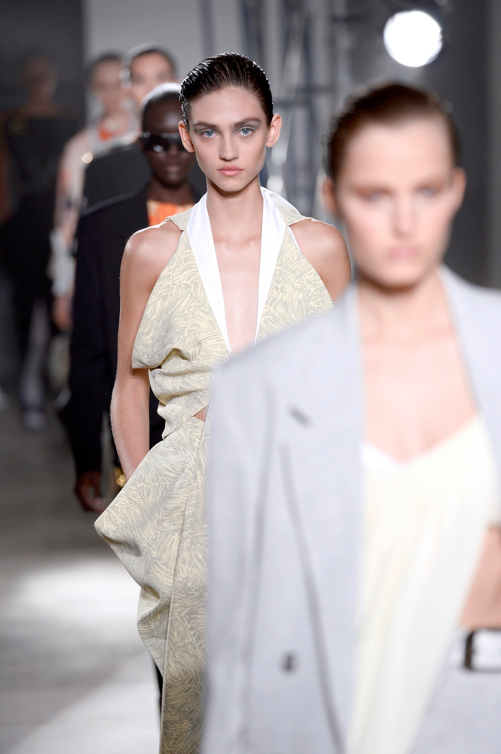 NEW YORK, NEW YORK - SEPTEMBER 10: Models walk the runway for Proenza Schouler during New York Fashion Week: The Shows on September 10, 2019 in New York City. (Photo by Fernanda Calfat/Getty Images for NYFW: The Shows)