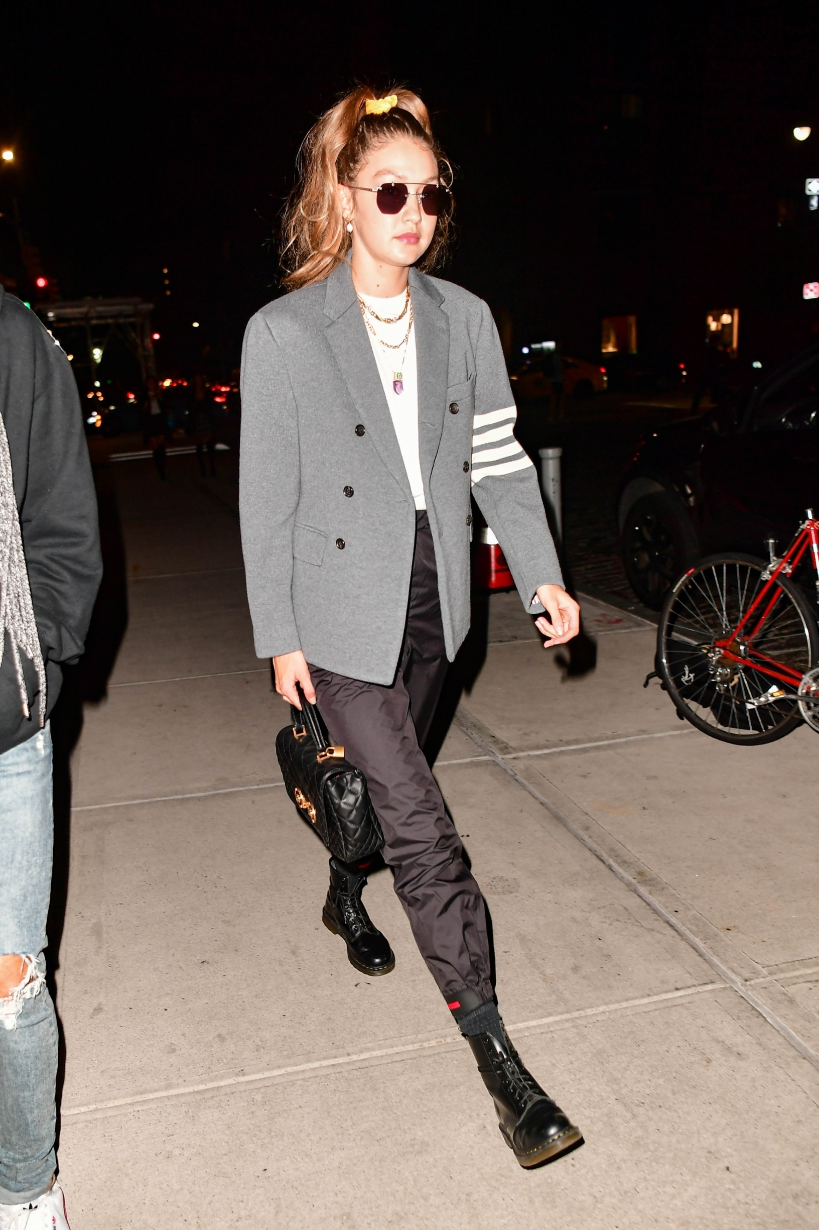 New York, Ny  - Gigi Hadid going out for dinner with a male friend  BACKGRID USA 7 OCTOBER 2019, Image: 475551892, License: Rights-managed, Restrictions: RIGHTS: WORLDWIDE EXCEPT IN FRANCE, GERMANY, POLAND, Model Release: no, Credit line: Skyler2018 / BACKGRID / Backgrid USA / Profimedia