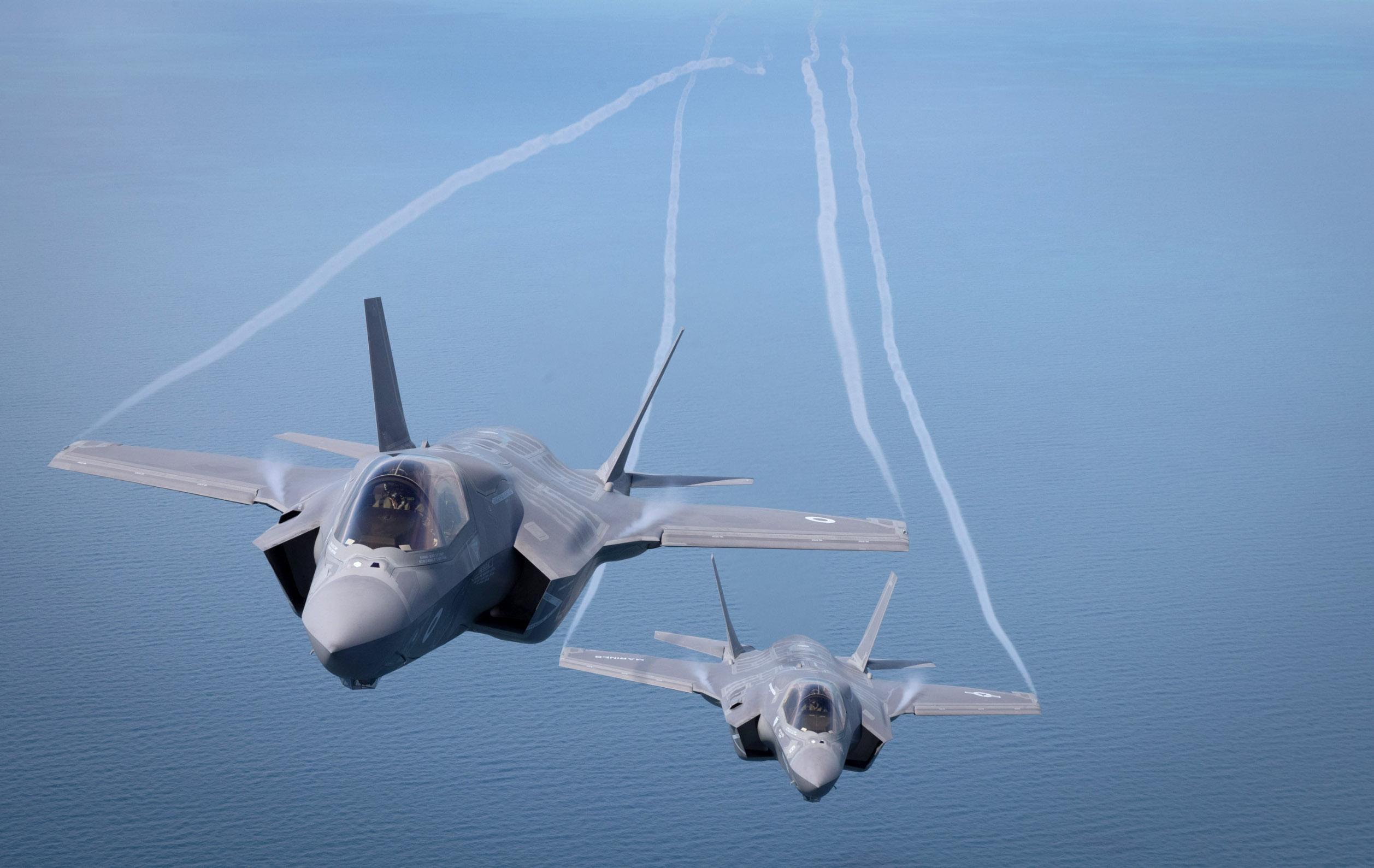 F-35B u letu