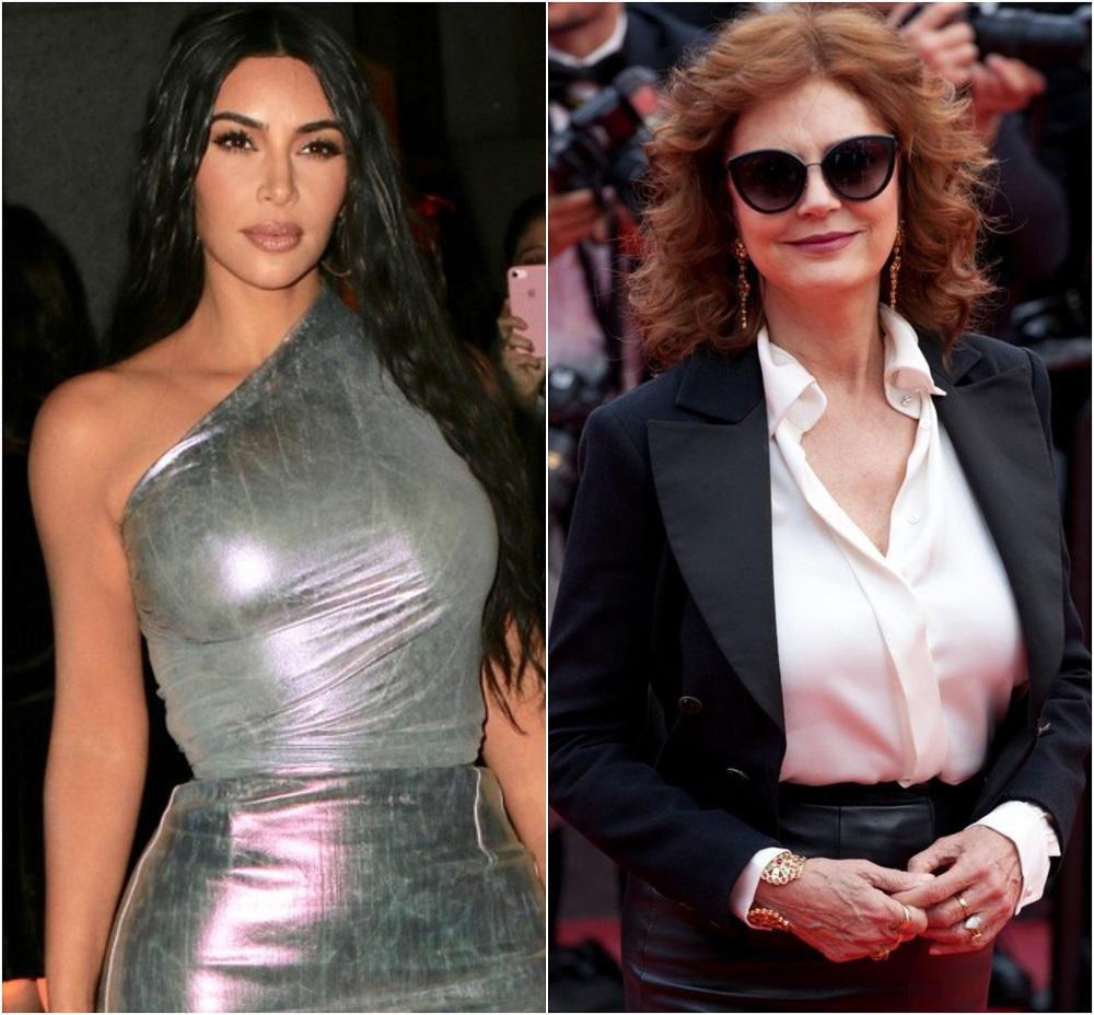 Kim Kardashian i Susan Sarandon