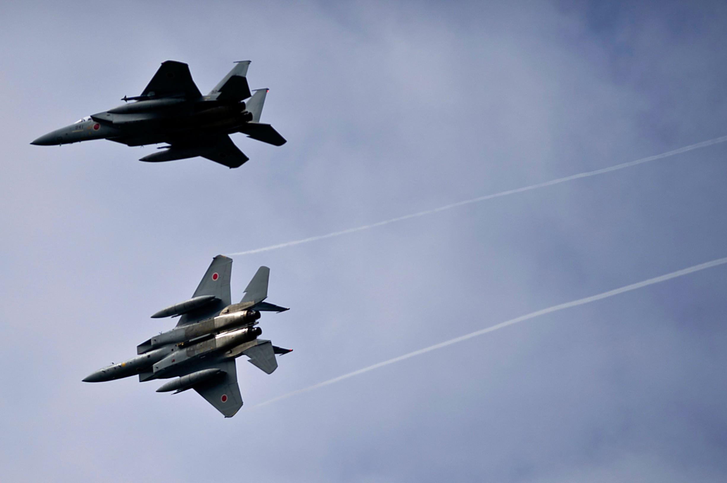 F-15J u letu