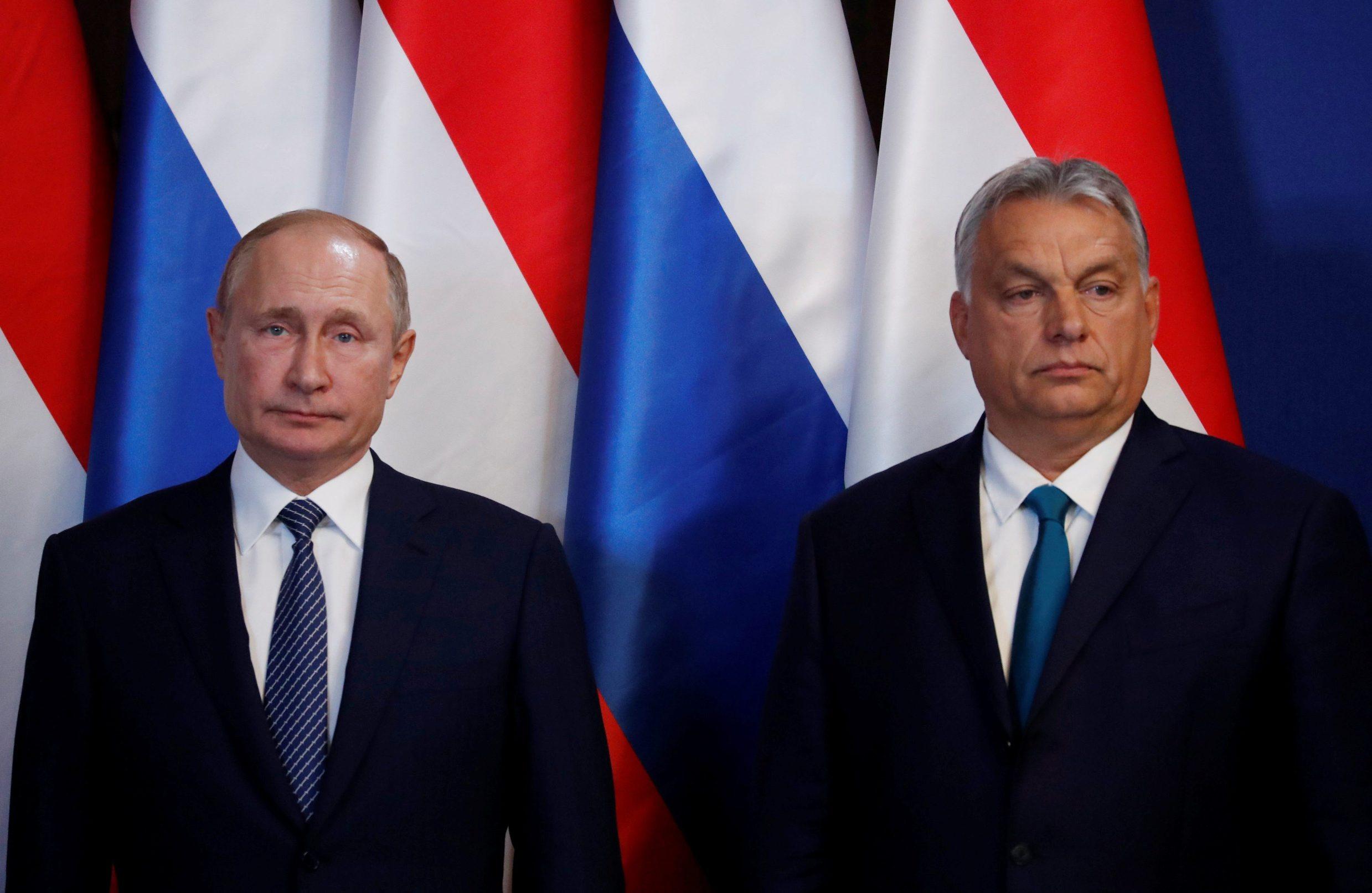 Ruski predsjednik Vladimir Putin (lijevo) i mađarski premijer Viktor Orban
