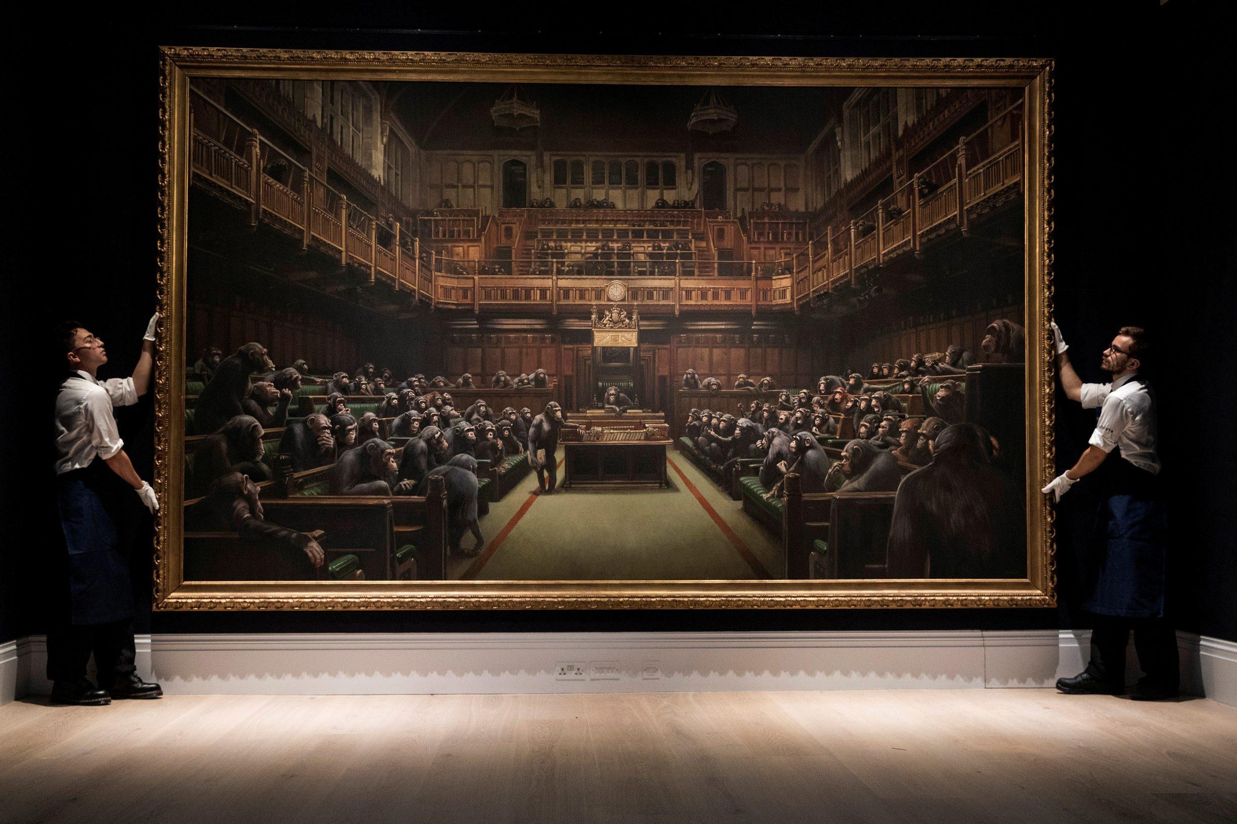 Banksyjev 'Devolved Parliament'