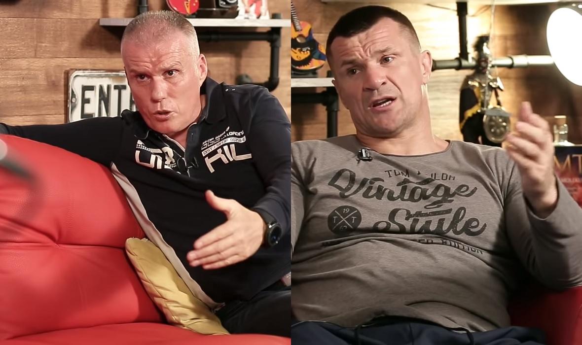 Leonard Pijetraj i Mirko Filipović