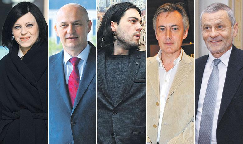 Mirela Holy, Mislav Kolakušić, Ivan Vilibor Sinčić, Miroslav Škoro, Dragutin Lesar