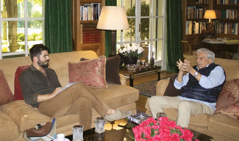 Đino Kolega i Mario Vargas Llosa