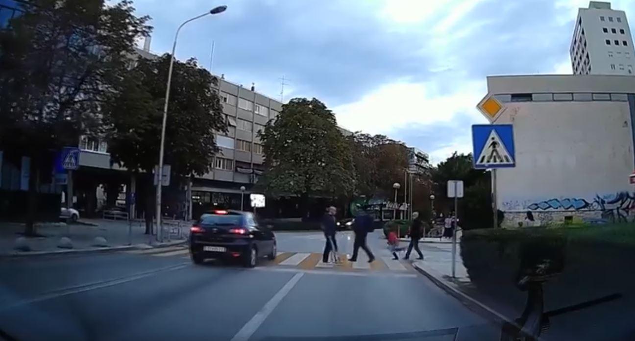 split prometni prekrsaj
