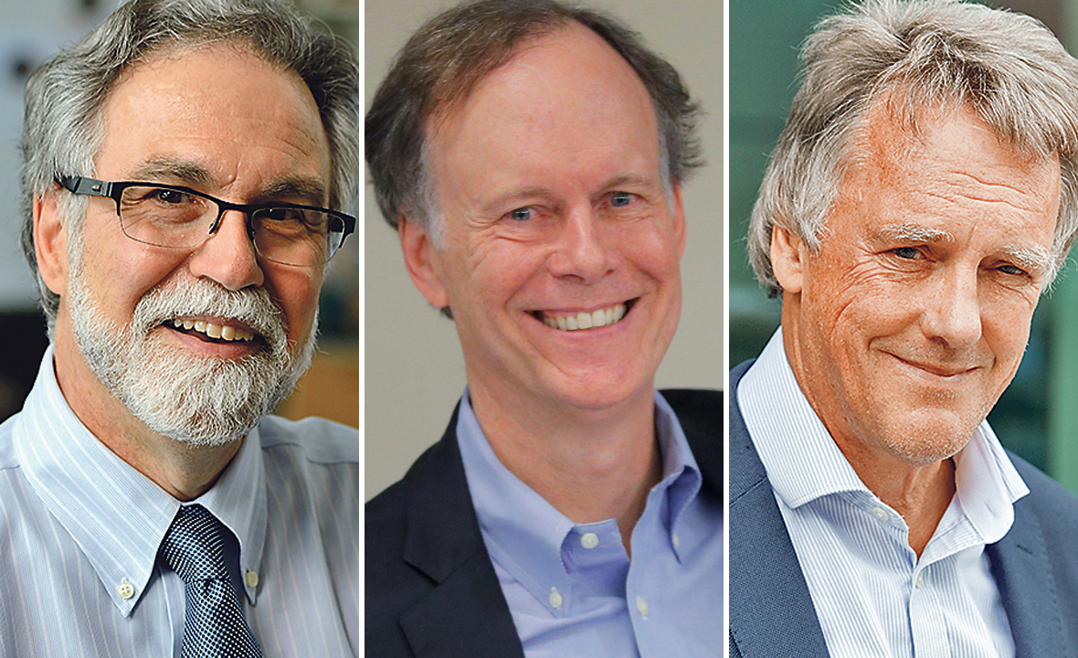 Gregg Semenza, William Kaelin i Peter Ratcliffe