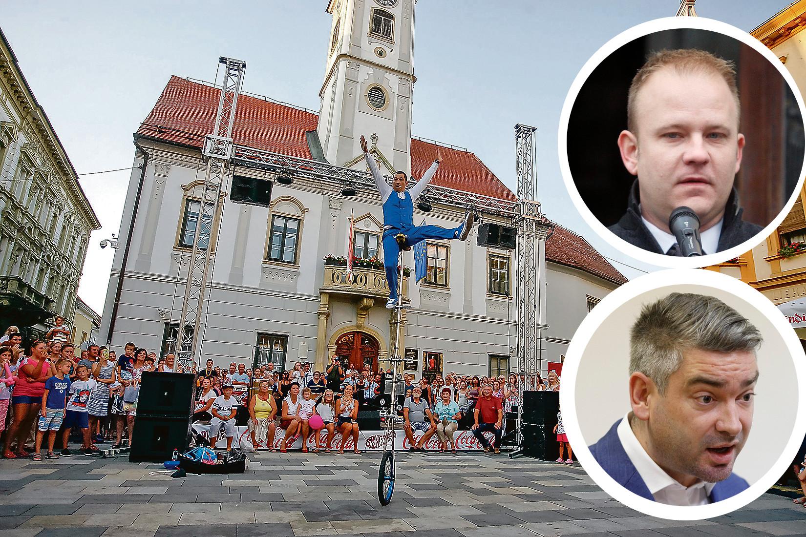 Ilustracija,gradonačelnik Koprivnice Mišel Jakšić,gradonačelnik Pule Boris Miletić