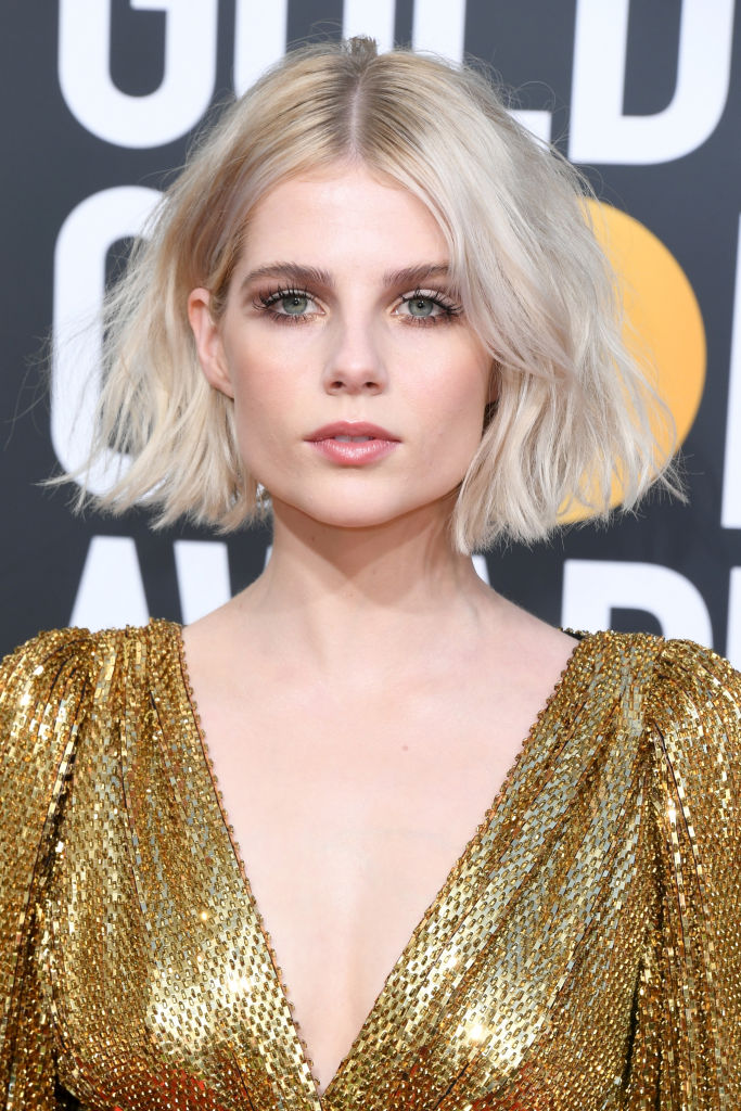 BEVERLY HILLS, CA - JANUARY 06:  Lucy Boynton attends the 76th Annual Golden Globe Awards at The Beverly Hilton Hotel on January 6, 2019 in Beverly Hills, California.  (Photo by Jon Kopaloff/Getty Images)