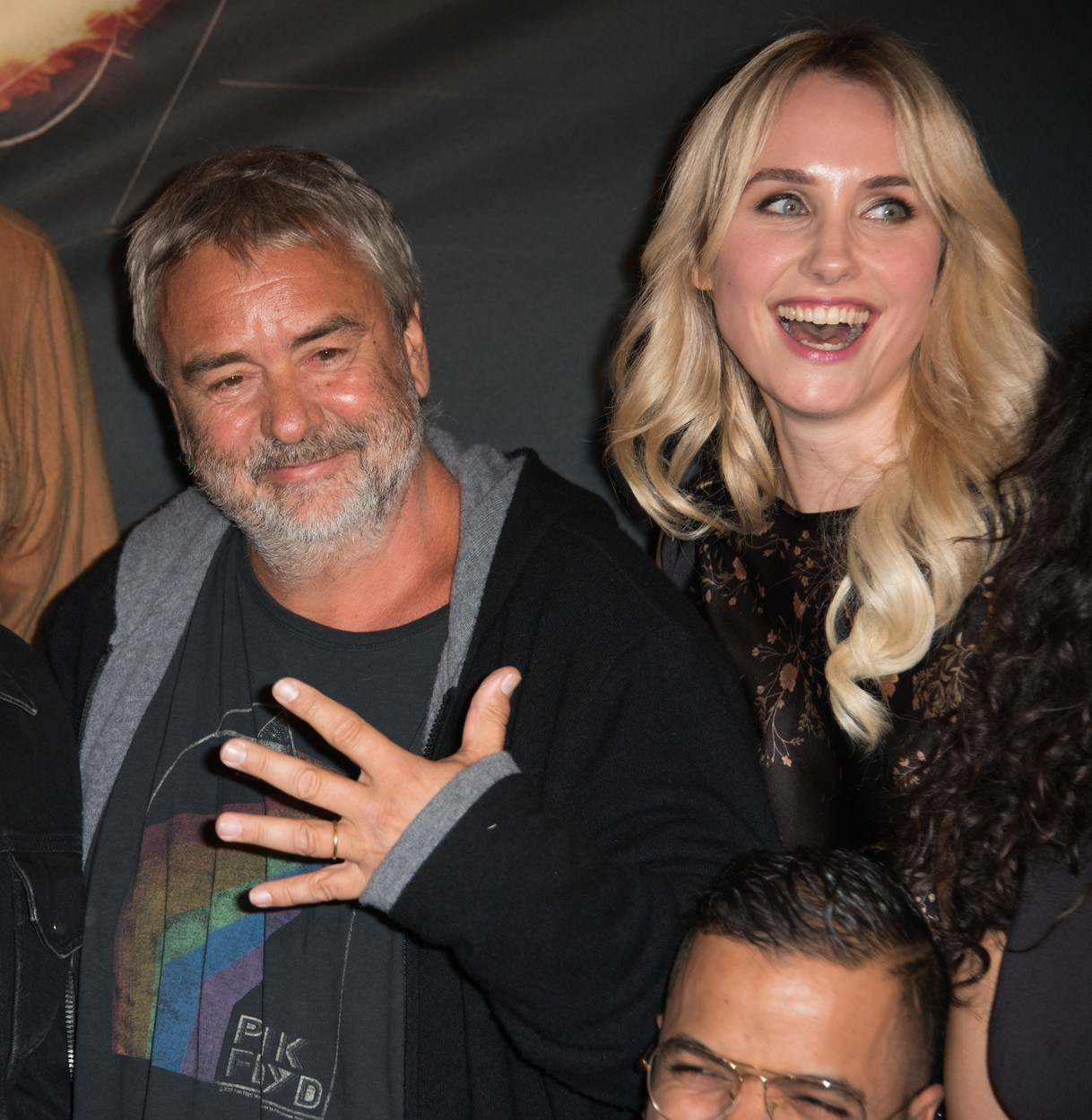 Filmmaker Luc Besson accused of rape by the actress Sand Van Roy - Luc Besson attending the Taxi 5 movie premiere with Sand Van Roy assistent at the Grand Rex in Paris, France, on April 8, 2018., Image: 372607000, License: Rights-managed, Restrictions: , Model Release: no, Credit line: Wyters Alban/ABACA / Abaca Press / Profimedia