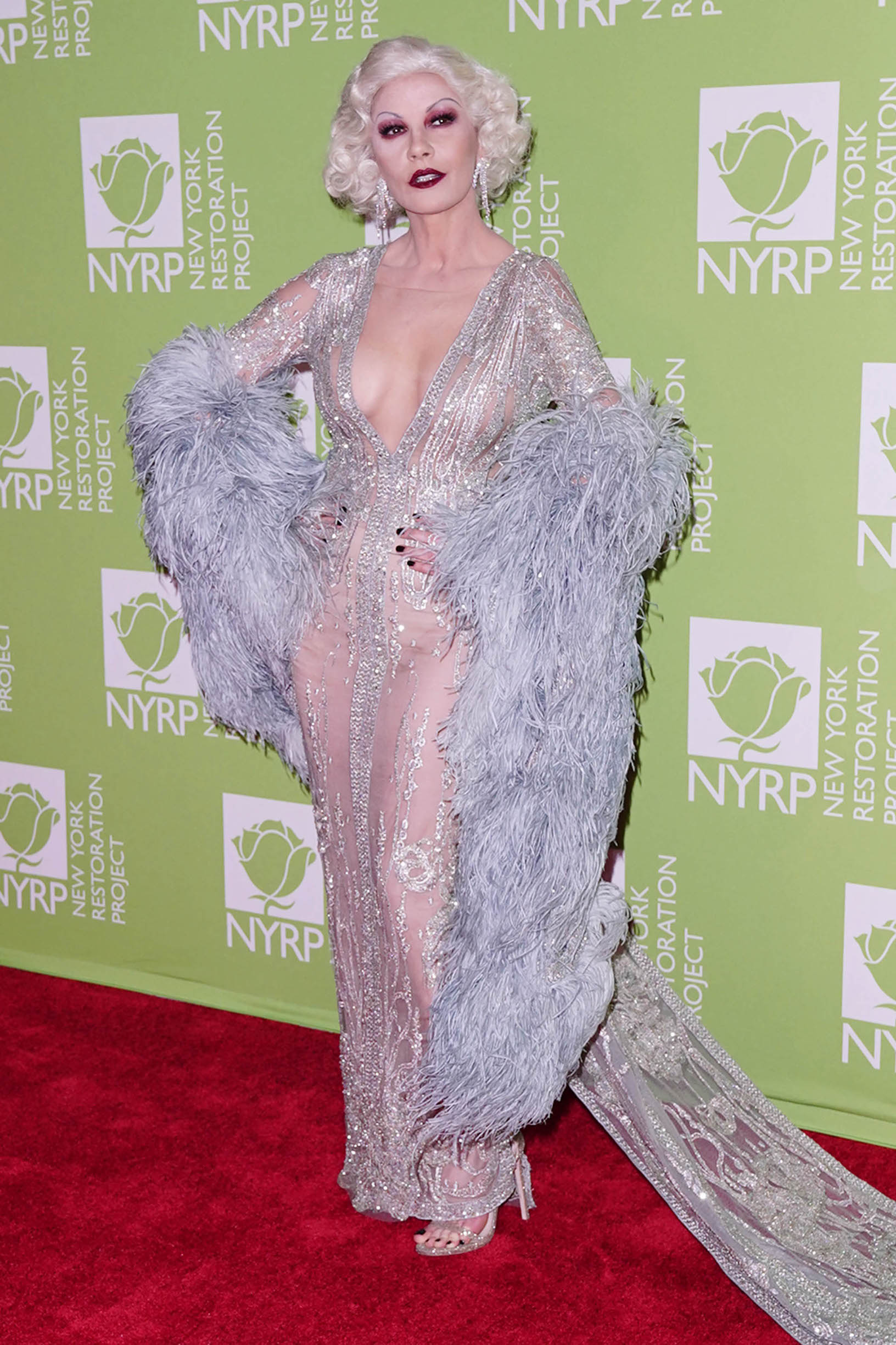 -New York, NY - 20191031-Bette Midler`s 2019 Hulaween Party  -PICTURED: Catherine Zeta-Jones -, Image: 480269376, License: Rights-managed, Restrictions: , Model Release: no, Credit line: JOHN NACION / INSTAR Images / Profimedia