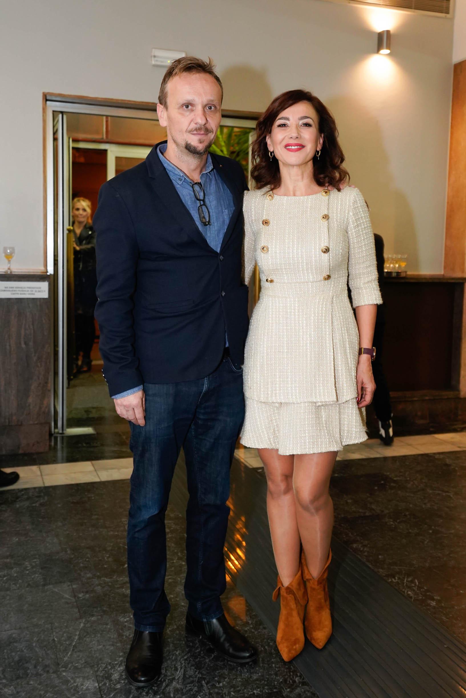 Ecija Ojdanić sa suprugom Robertom Orhelom