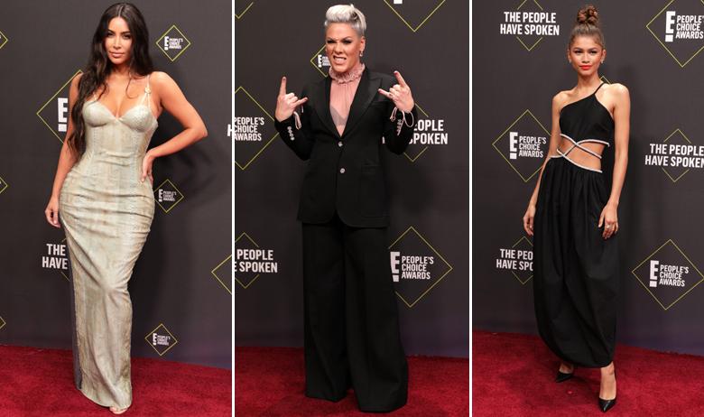 Kim Kardashian, Pink, Zendaya
