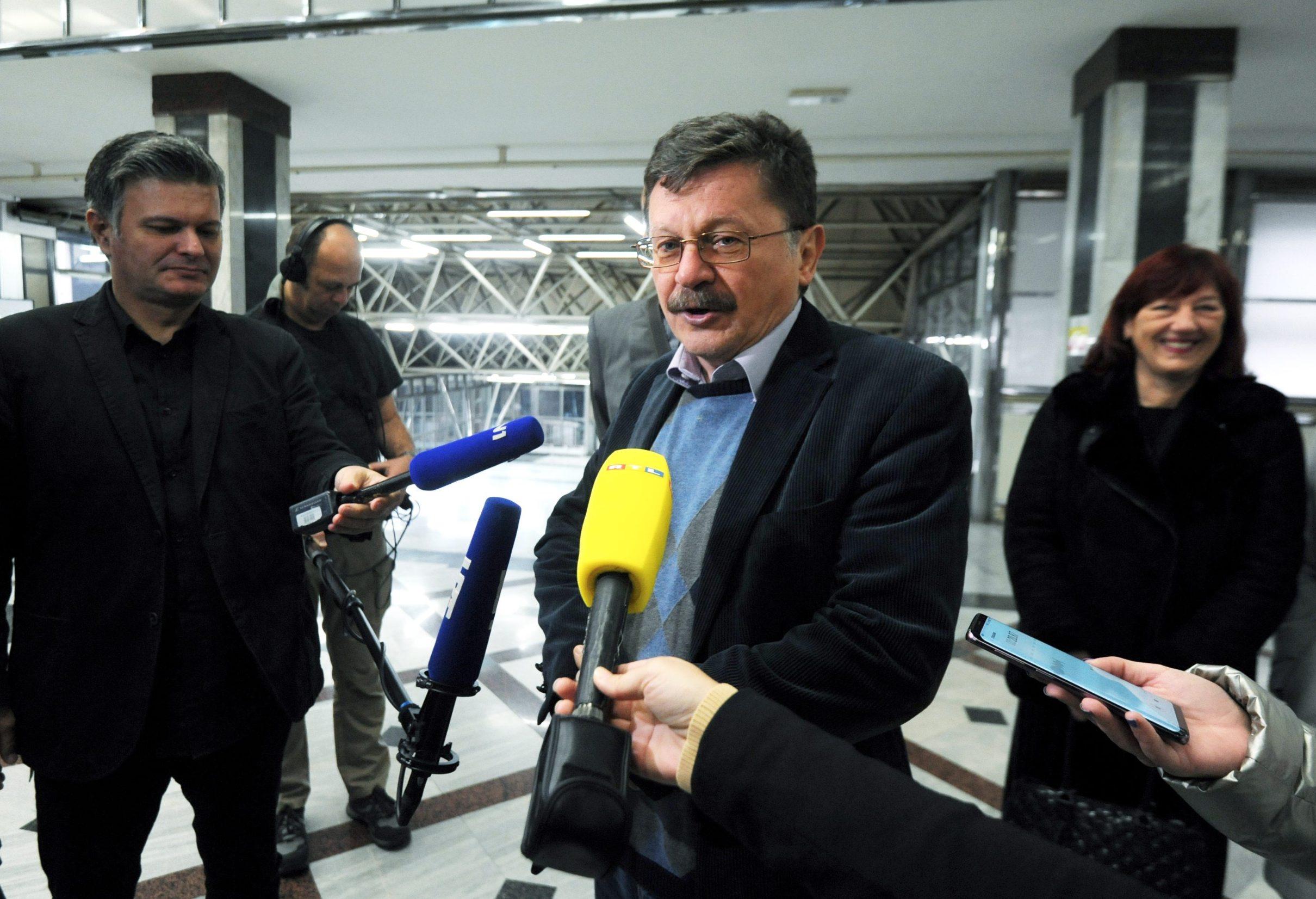 Sindikalisti u ministarstvu, Vilim Ribić
