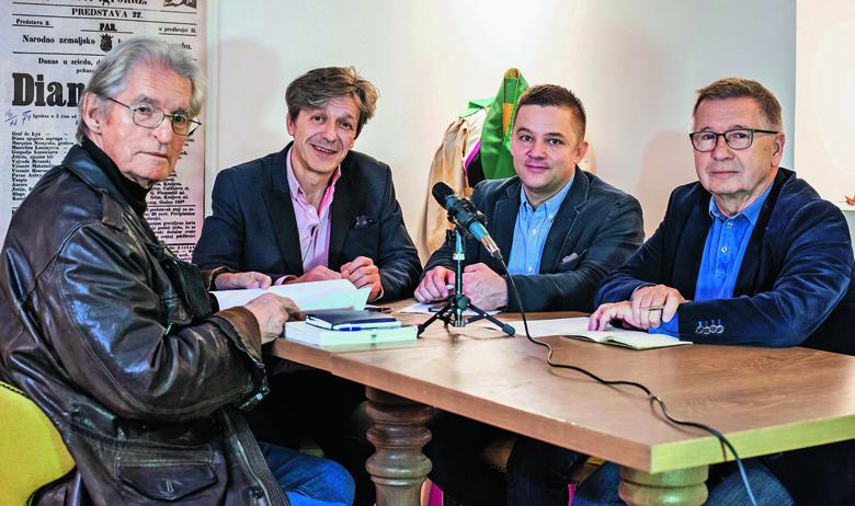 Igor Mandić, Boris Vlašić, Tvrtko Jakovina i Zvonko Maković
