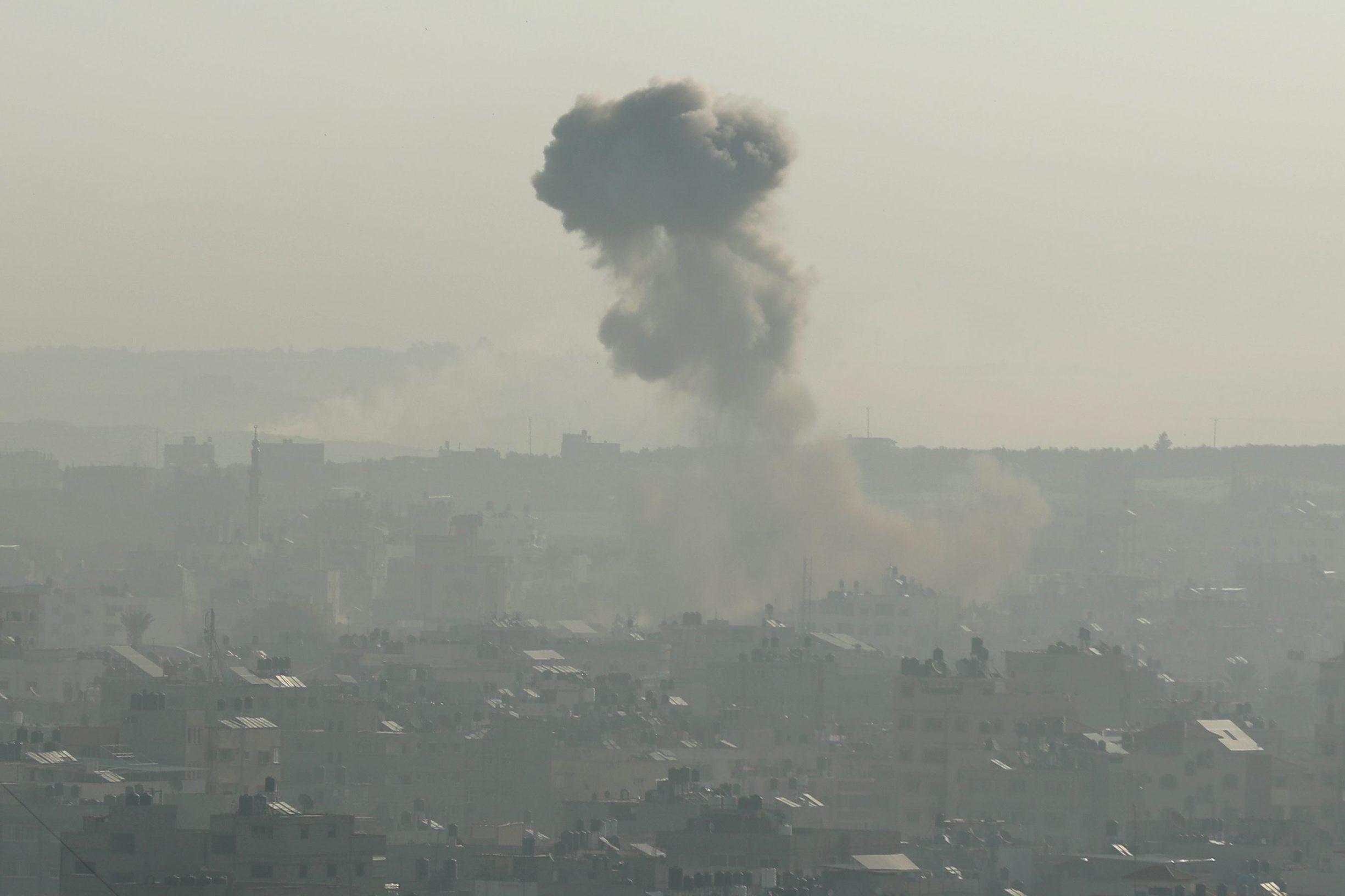 Eksplozije u Pojasu Gaze