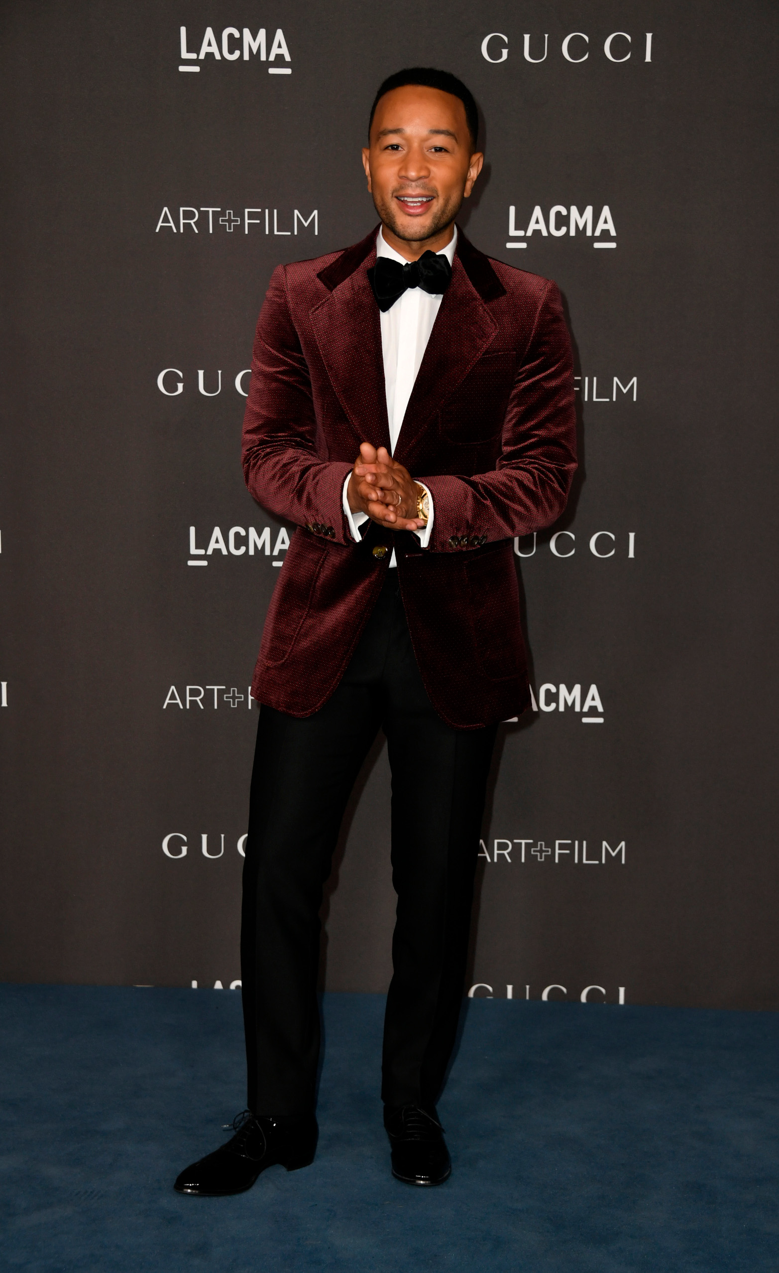 LOS ANGELES, CALIFORNIA - NOVEMBER 02: John Legend attends the 2019 LACMA Art + Film Gala Presented By Gucci at LACMA on November 02, 2019 in Los Angeles, California. (Photo by Frazer Harrison/Getty Images)
