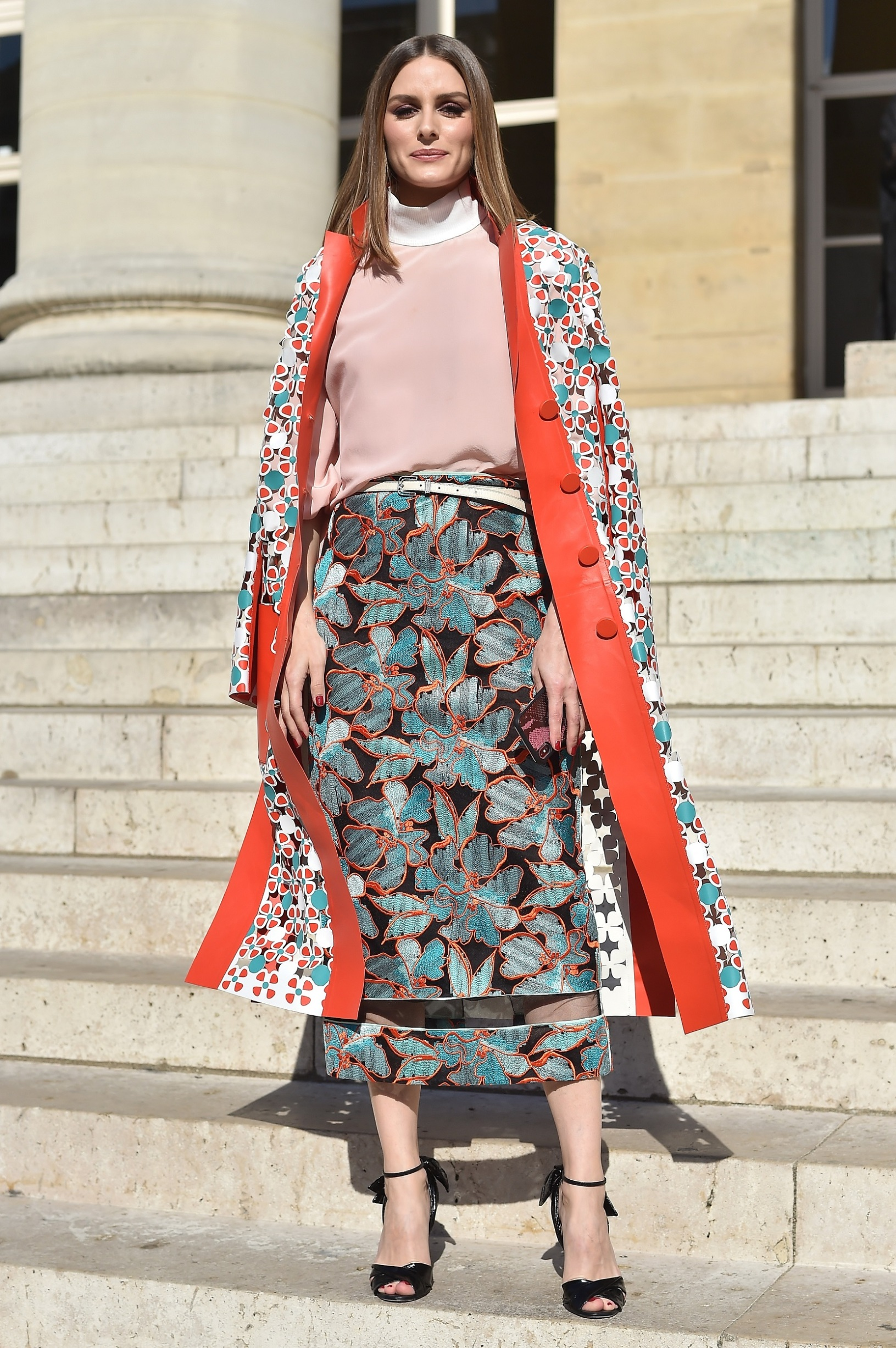 PARIS, FRANCE - JULY 04:  Olivia Palermo attends Fendi Couture during Paris Fashion Week - Haute Couture Fall Winter 2018/2019 - on July 4, 2018 in Paris, France.  (Photo by Jacopo Raule/Getty Images for Fendi)