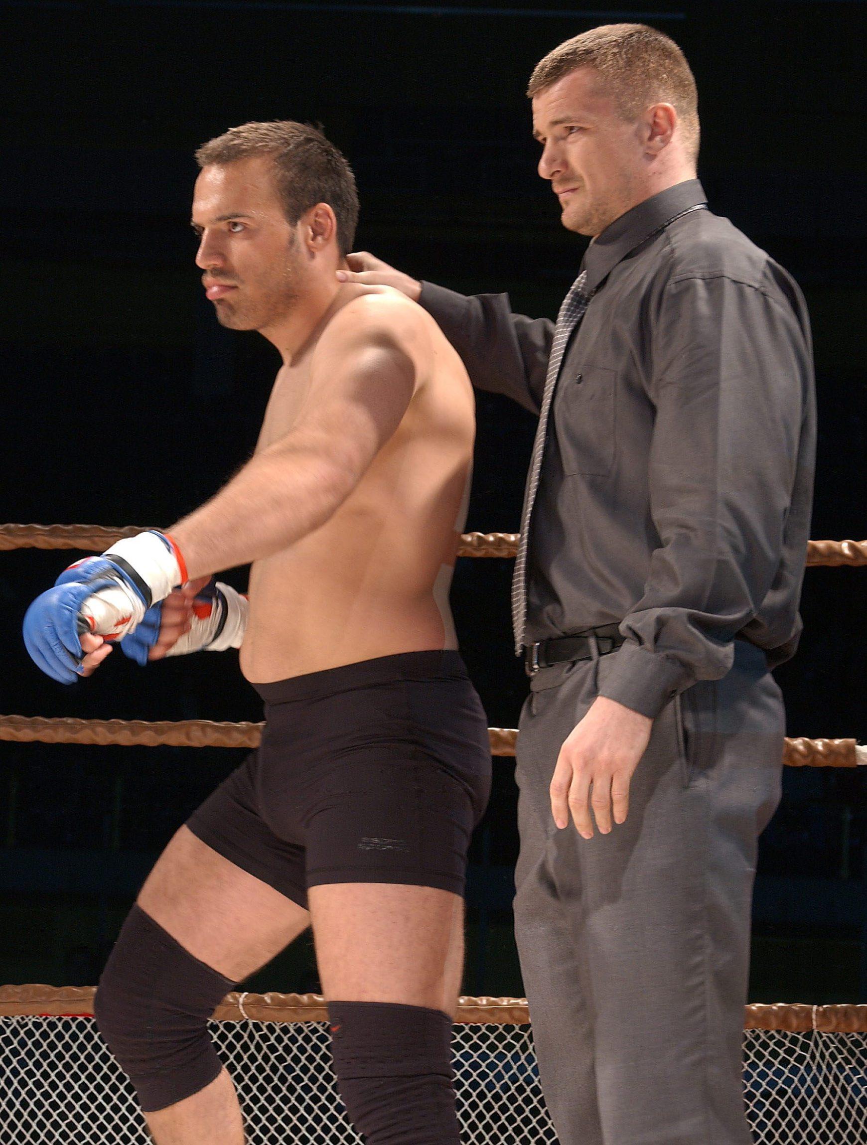 zagreb 030503 durata world grand prix ultimate fight igor pokrajac i mirko filipovic foto:davor pongracic -spo-