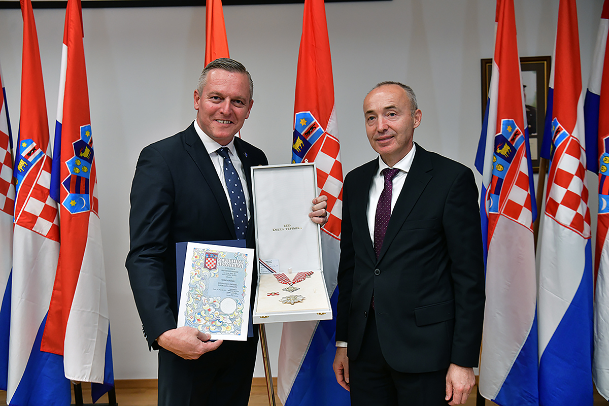 Mario Kunasek i Damir Krstičević