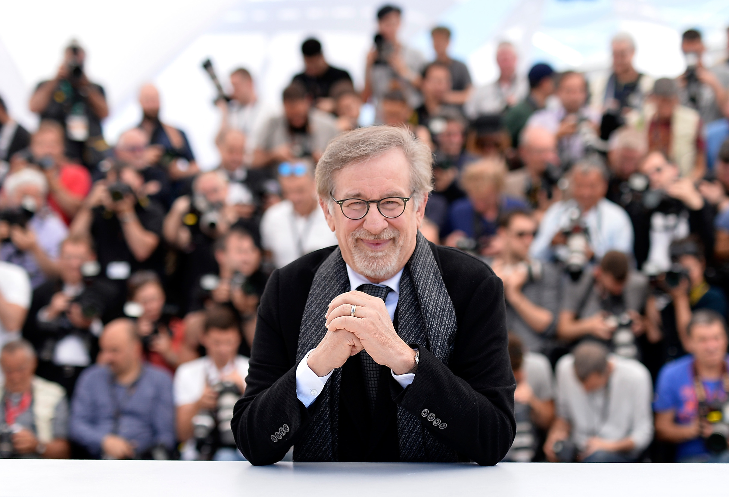CANNES, FRANCE - MAY 14:  Director Steven Spielberg attends