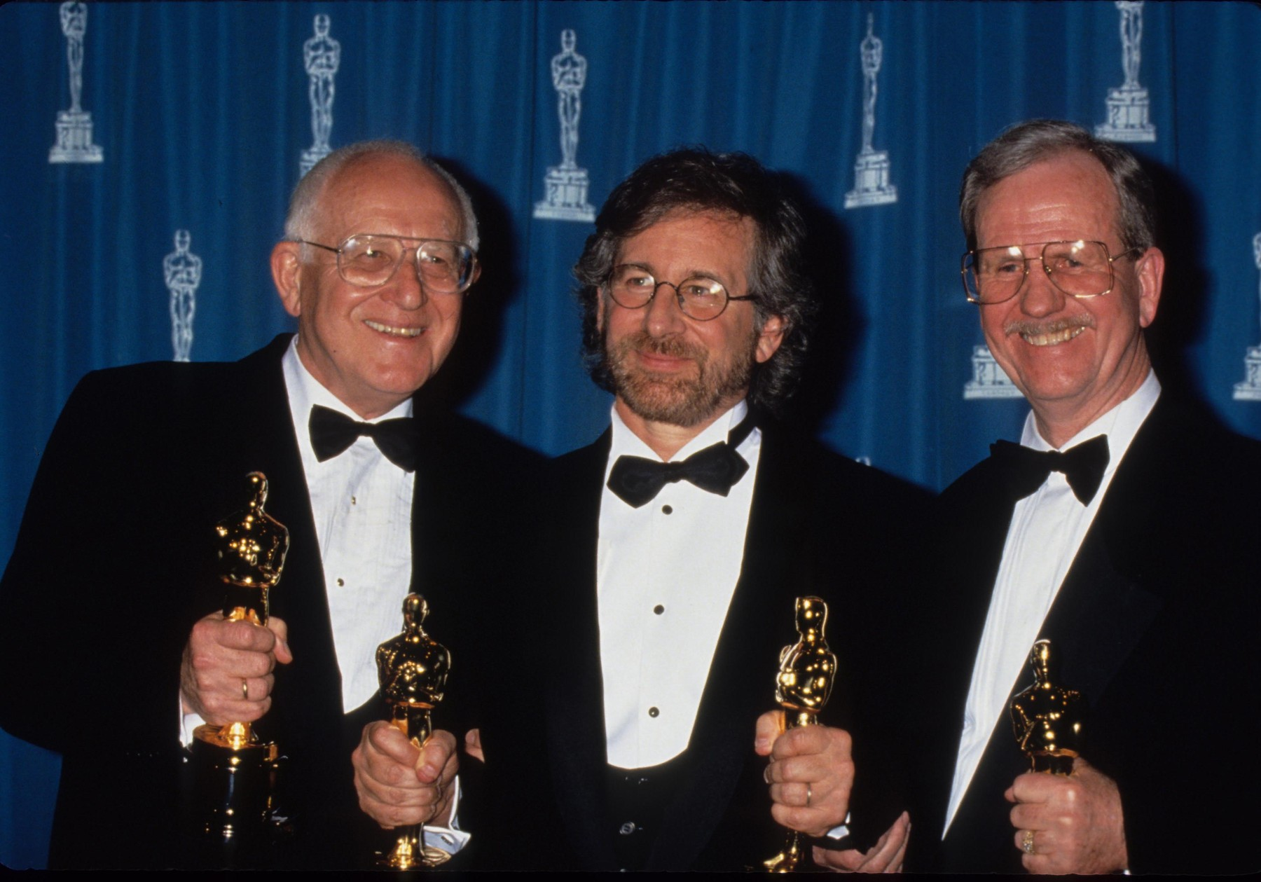 Branko Lustig, Steven Spielberg i Gerald R. Molen