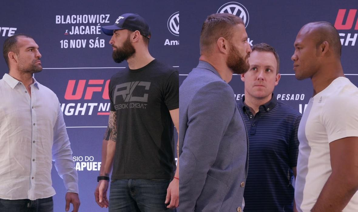 Rua vs. Craig, Blachowicz vs. Jacare