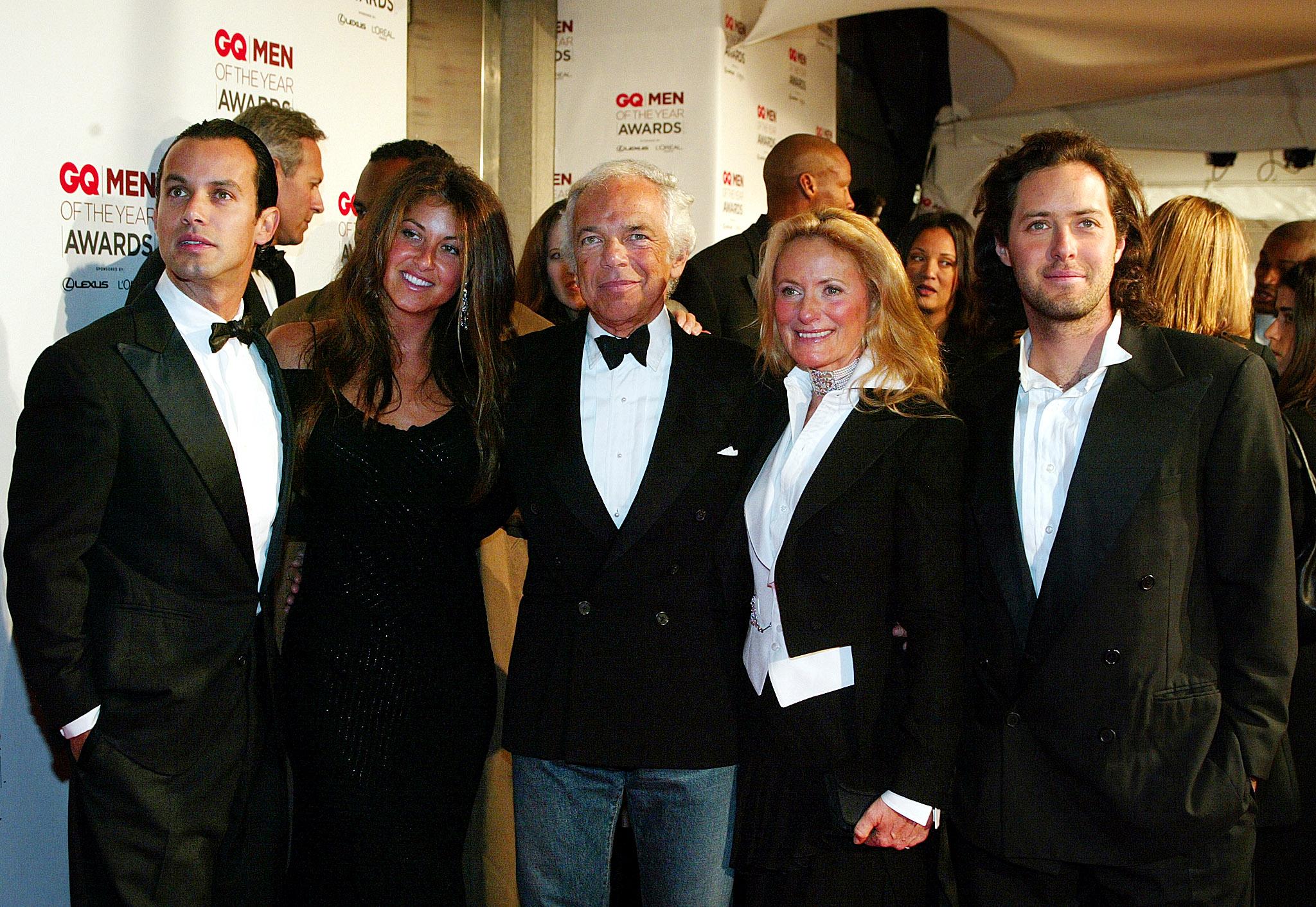 Ralph Lauren s obitelji (arhivska fotografija)
