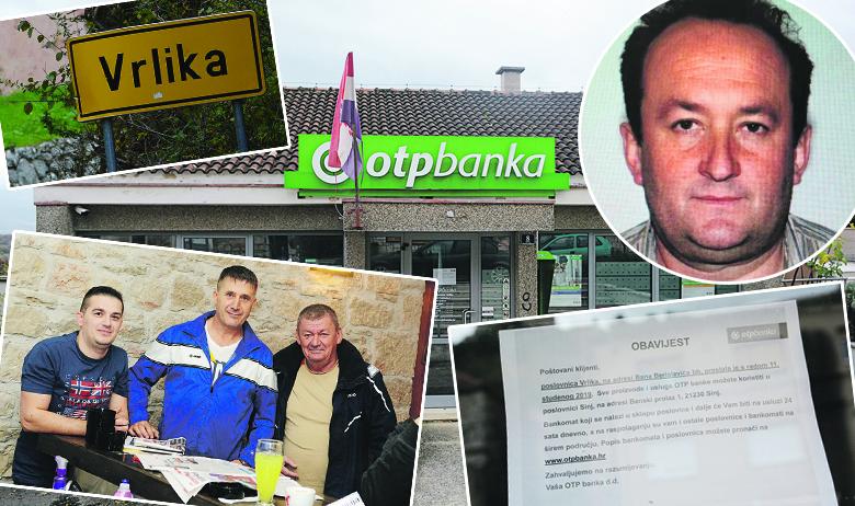Dolje lijevo: Srđanovi prijatelji Marko, Ante i Ujo namjernicima pričaju o Srđanovim pothvatima, no kasnije priznaju da je on daleko od moderne verzije Robina Hooda; gore desno: Srđan Djaković
