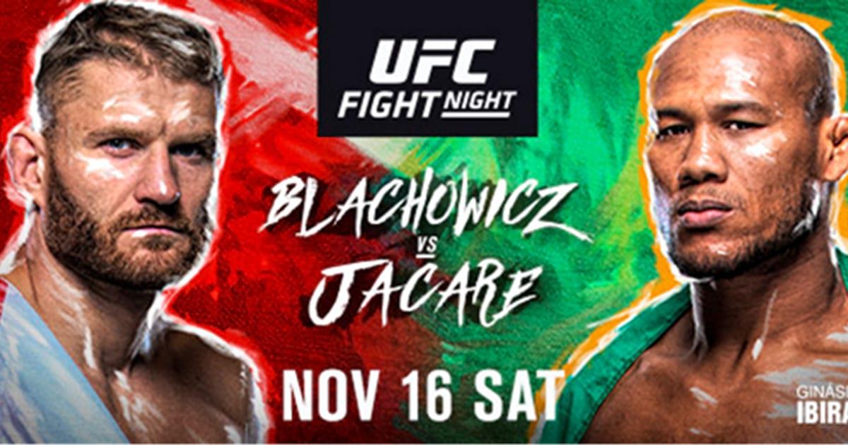 Blachowicz i Jacare