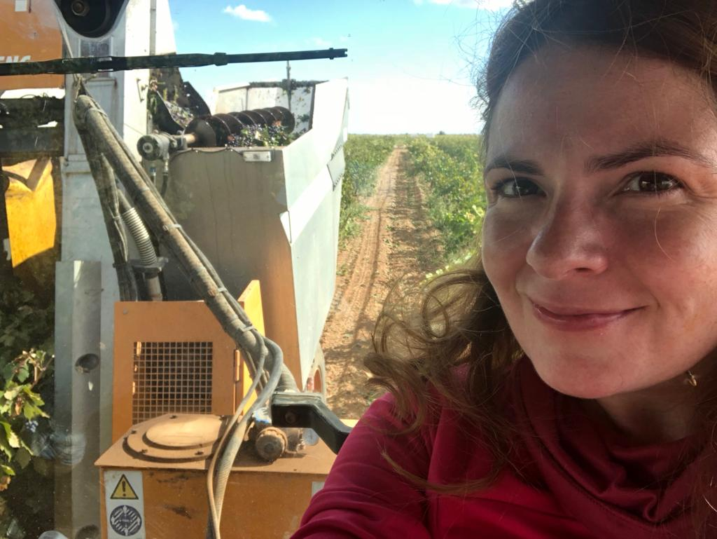 """Bez financijske pomoći poljoprivreda nije profitabilna"", kaže Pilar Mateos, poljoprivrednica na slici iz Argamasilla de Alba (Ciudad Real, središte Španjolske)"