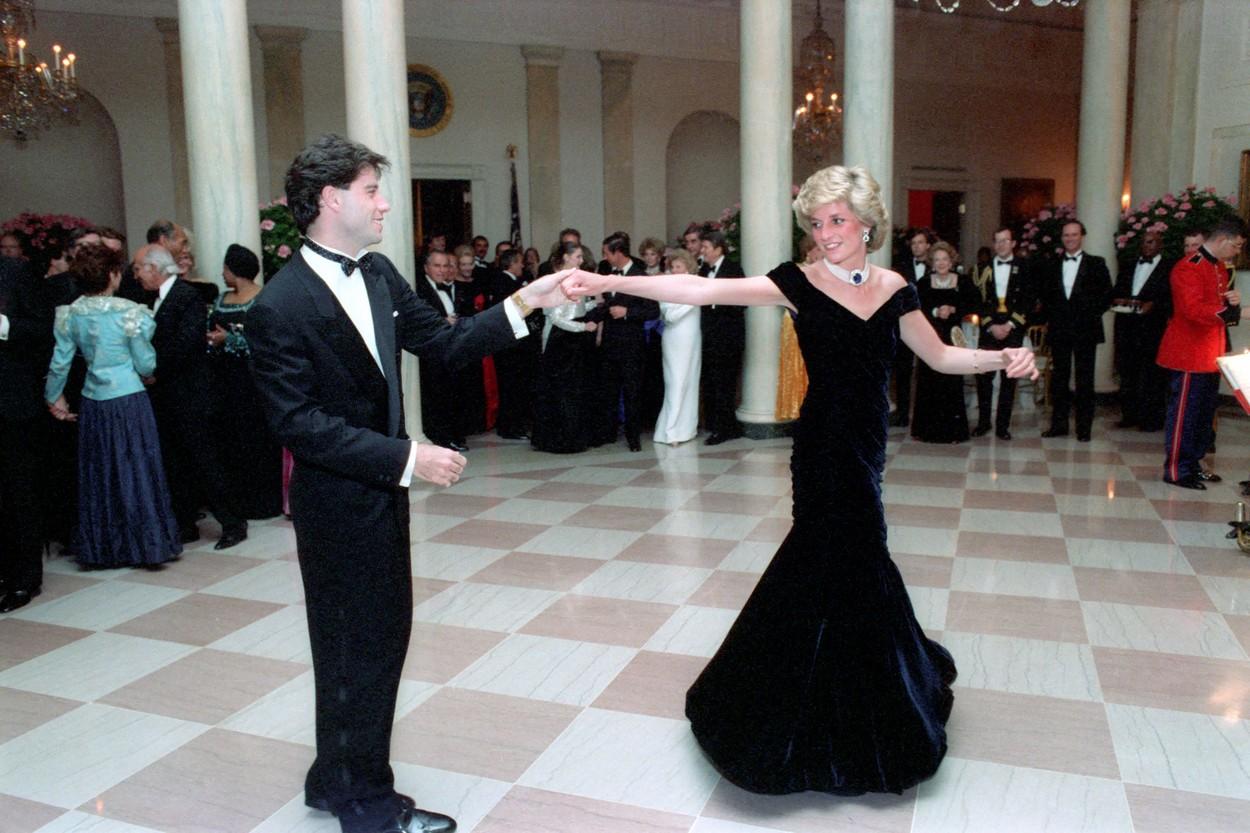 Princeza Diana i John Travolta