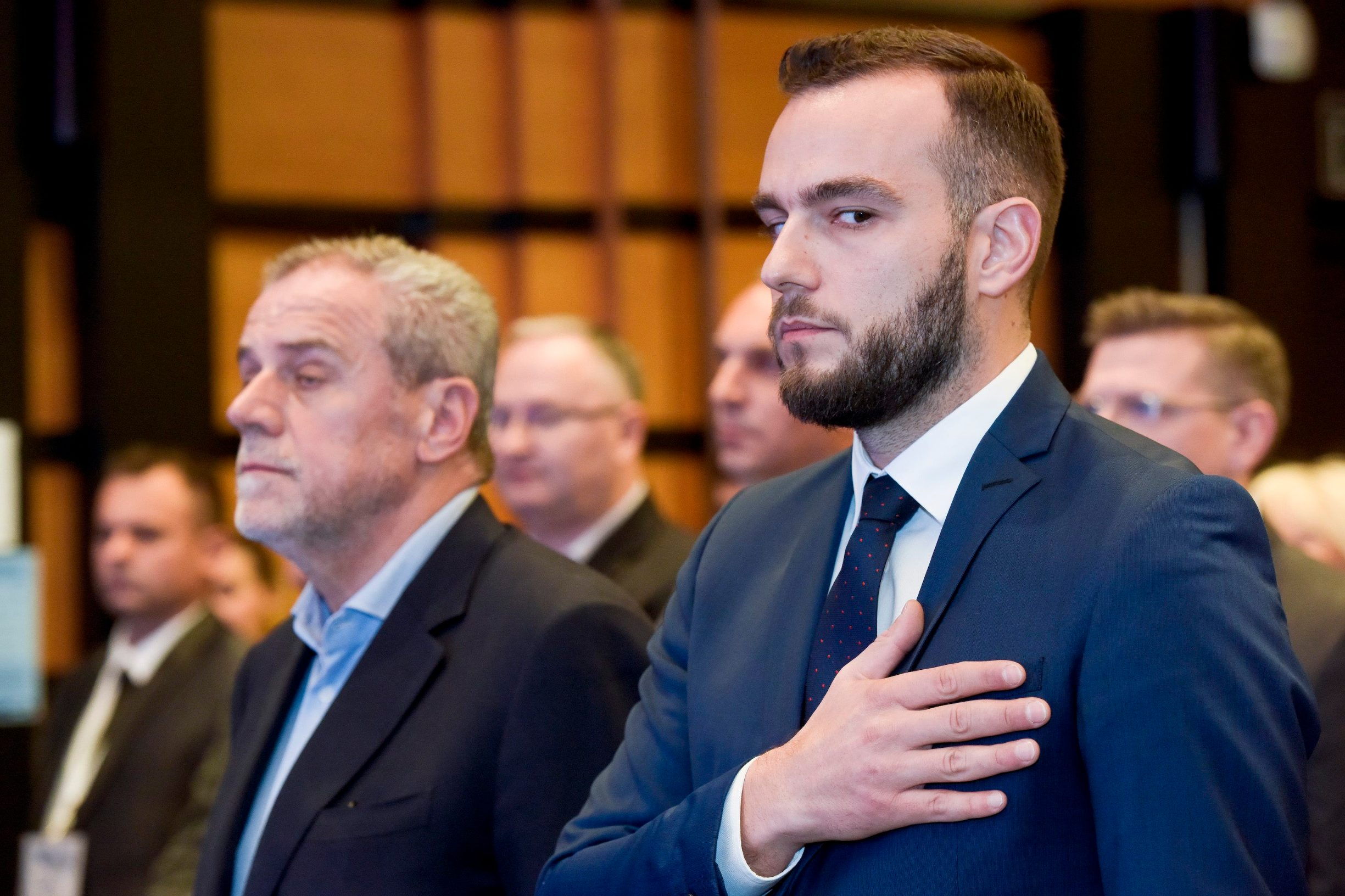 Milan Bandić i Josip Aladrović