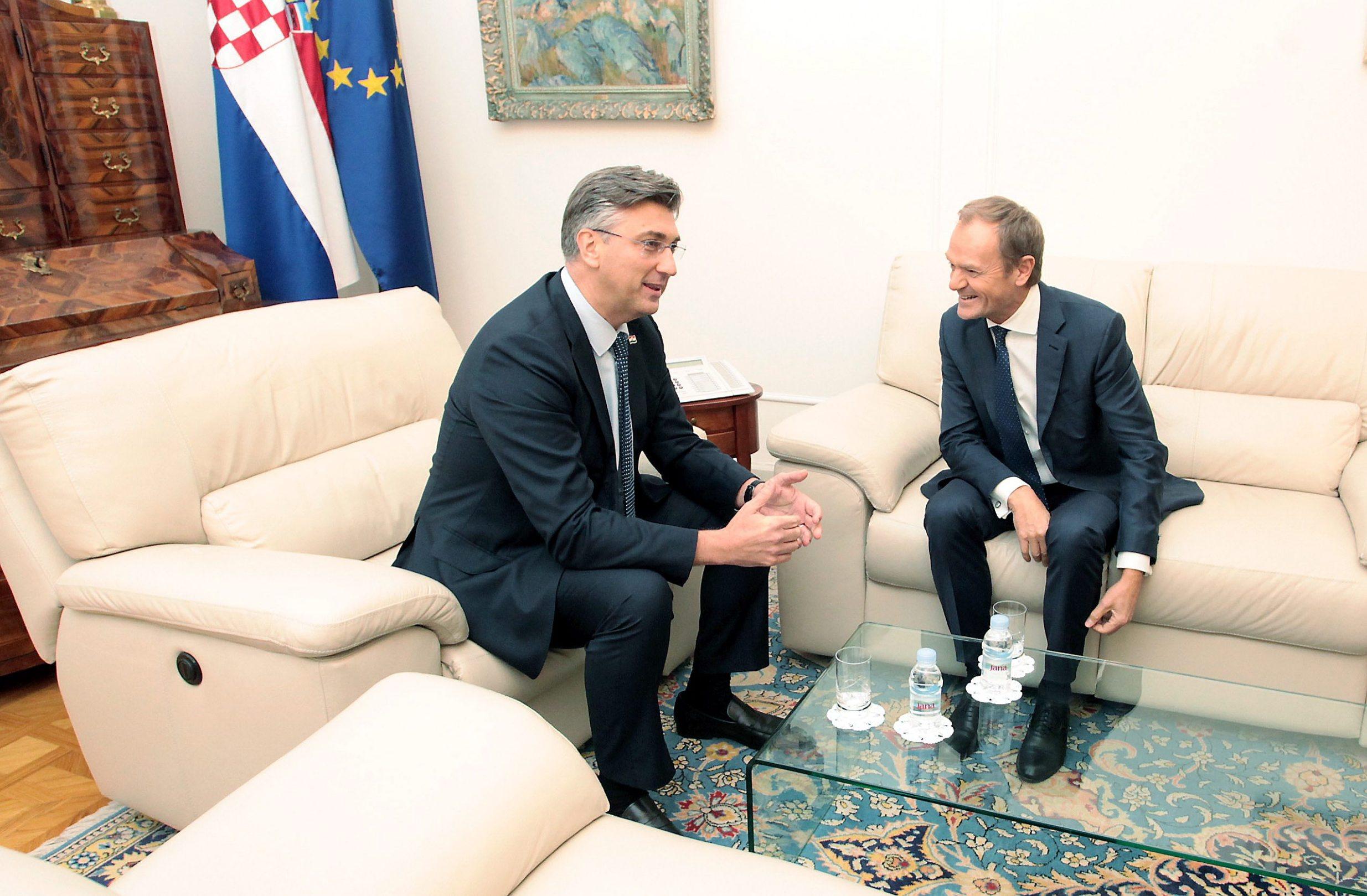 Andrej Plenković i Donald Tusk